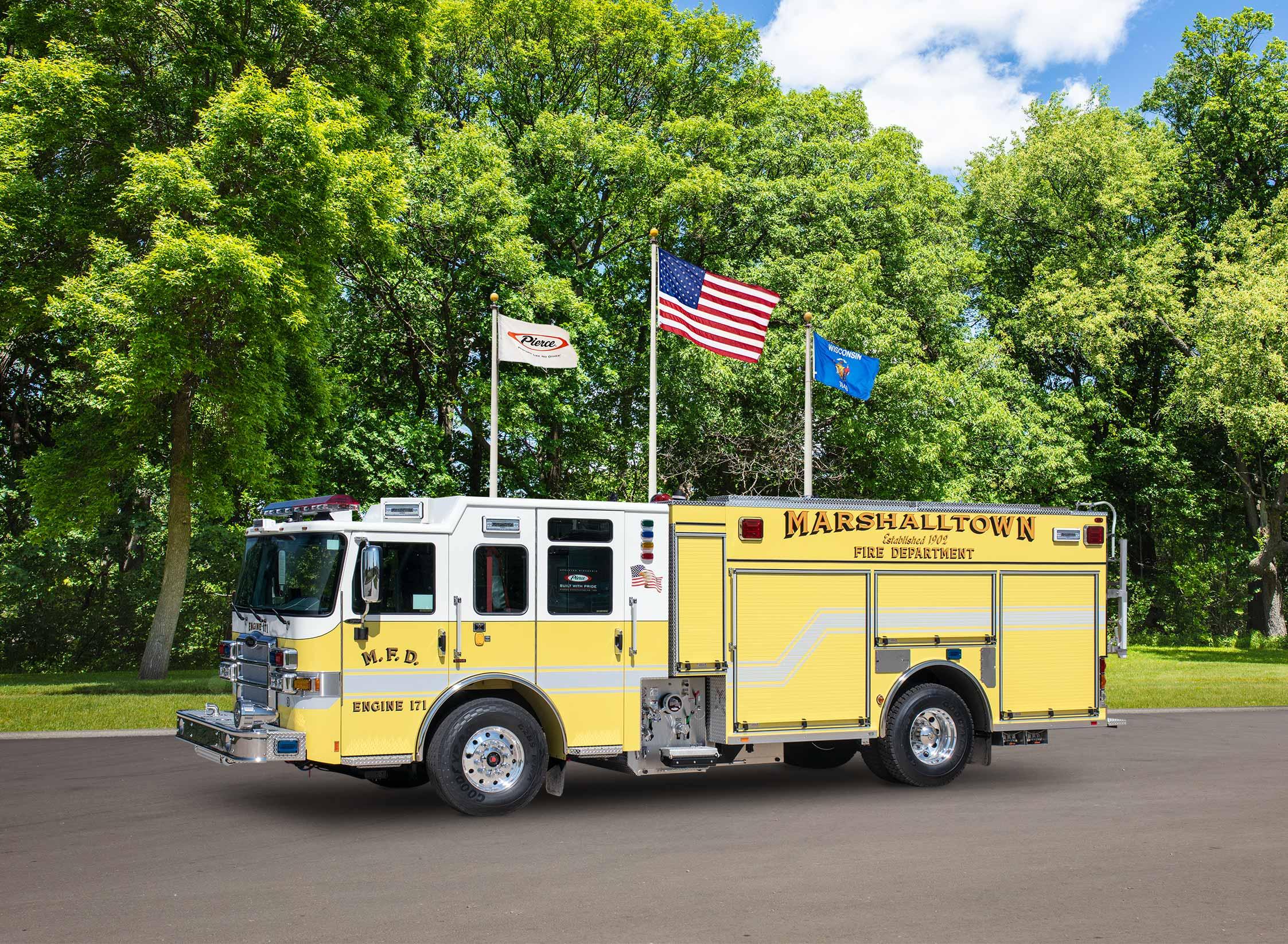 Marshalltown Fire Department - Pumper