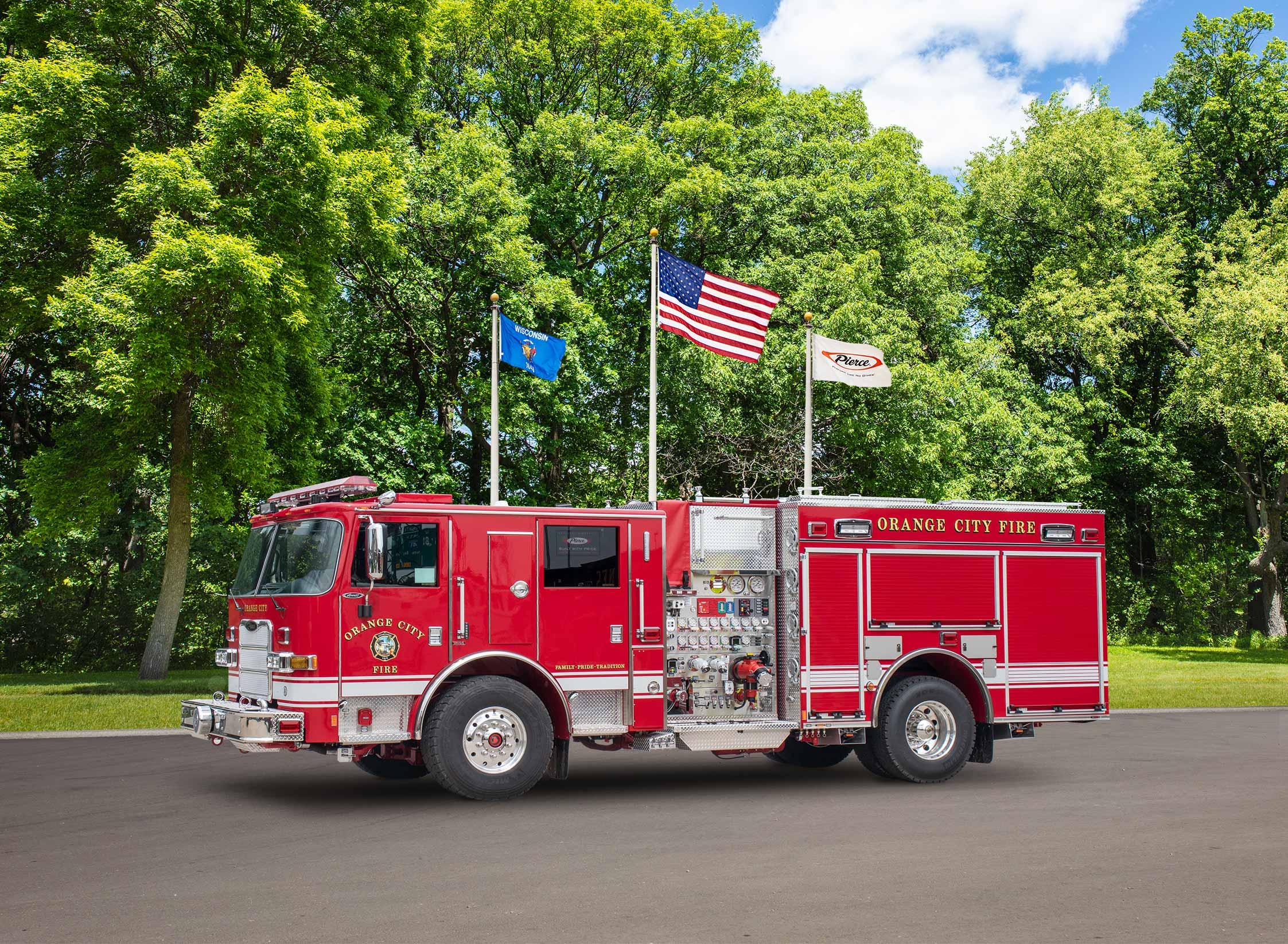 Orange City Fire Department - Pumper