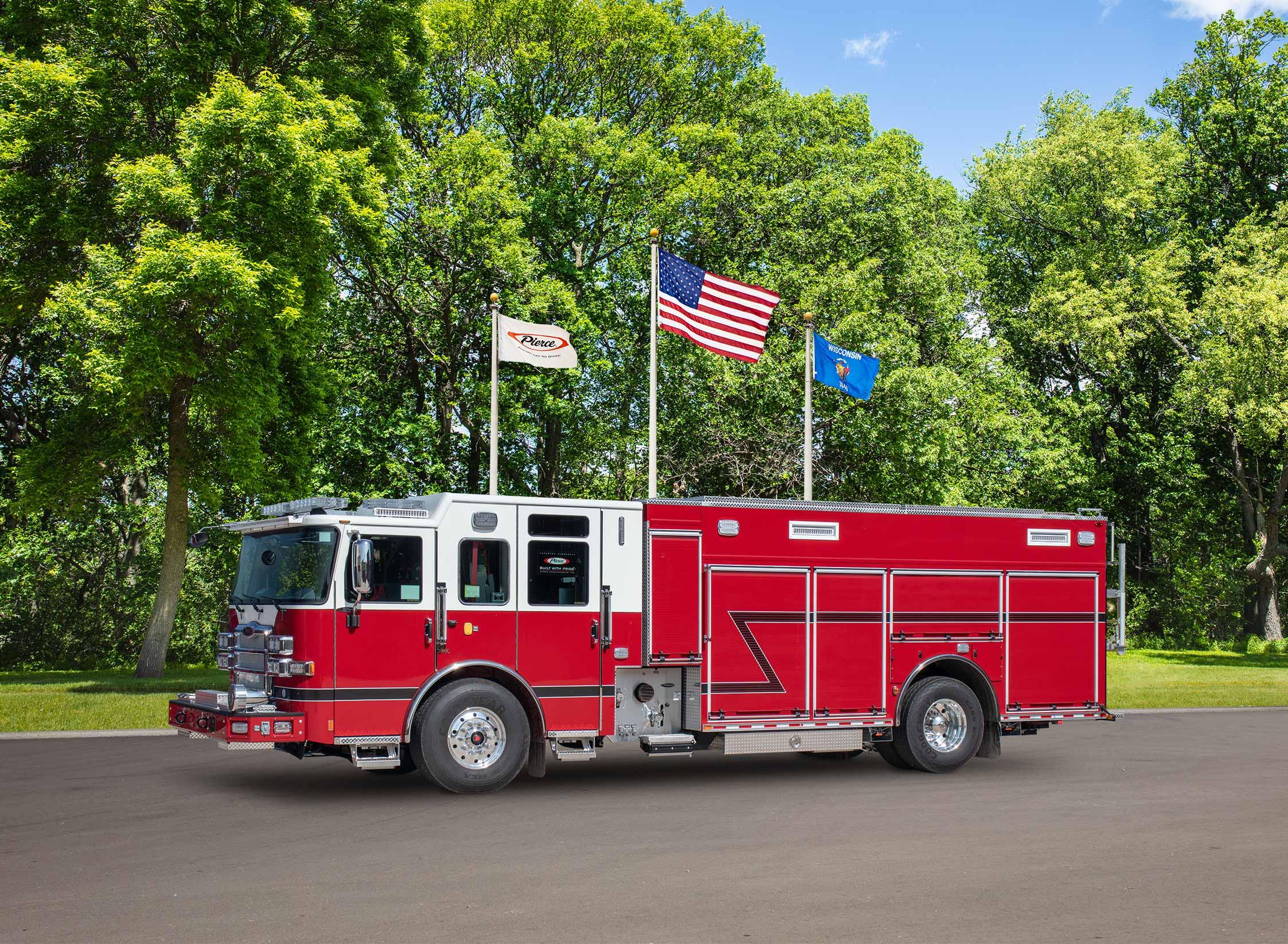 Lower Macungie Fire Department - Pumper