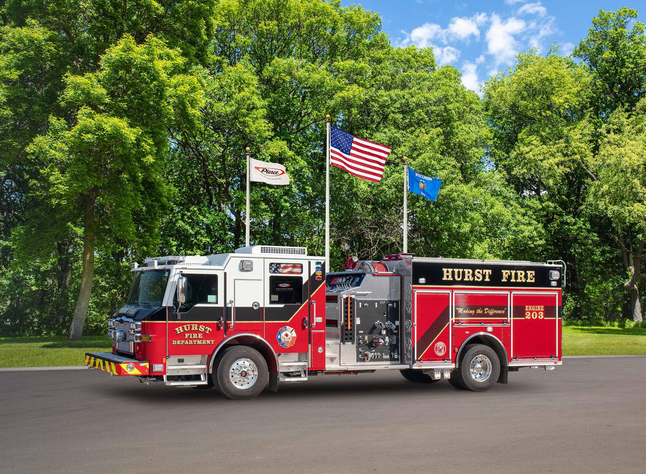 Hurst Fire Department - Pumper