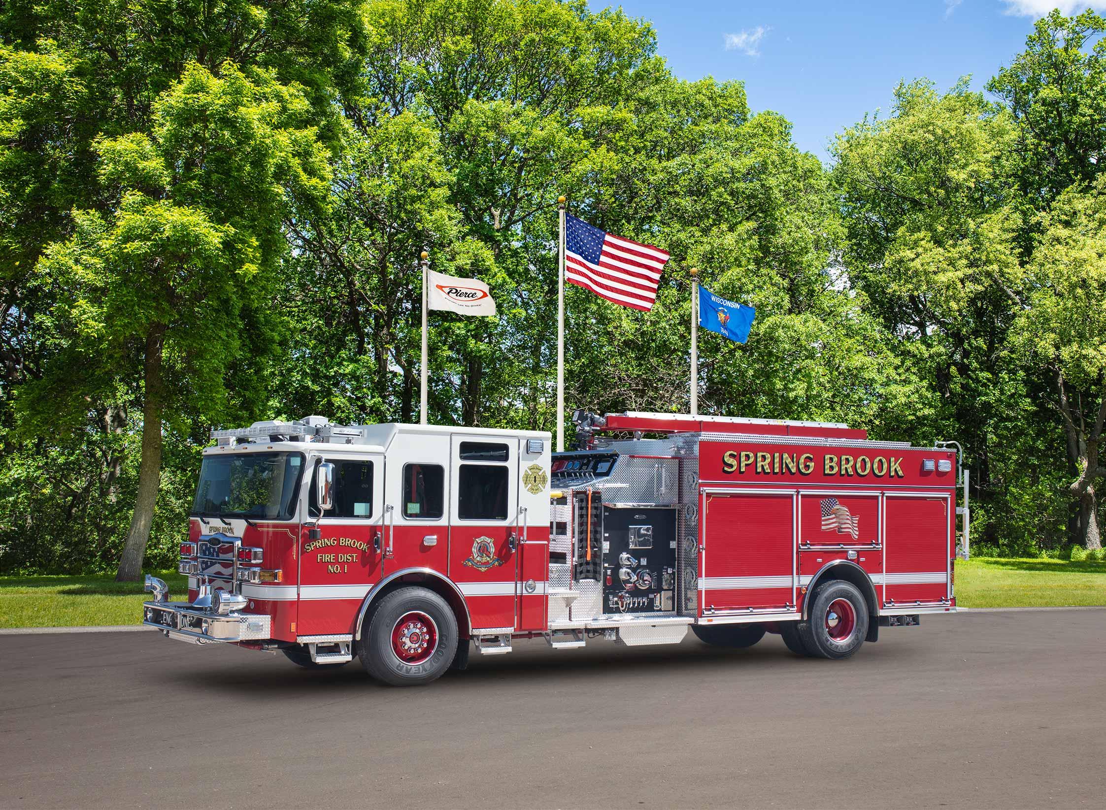 Spring Brook Fire District No.1 - Pumper