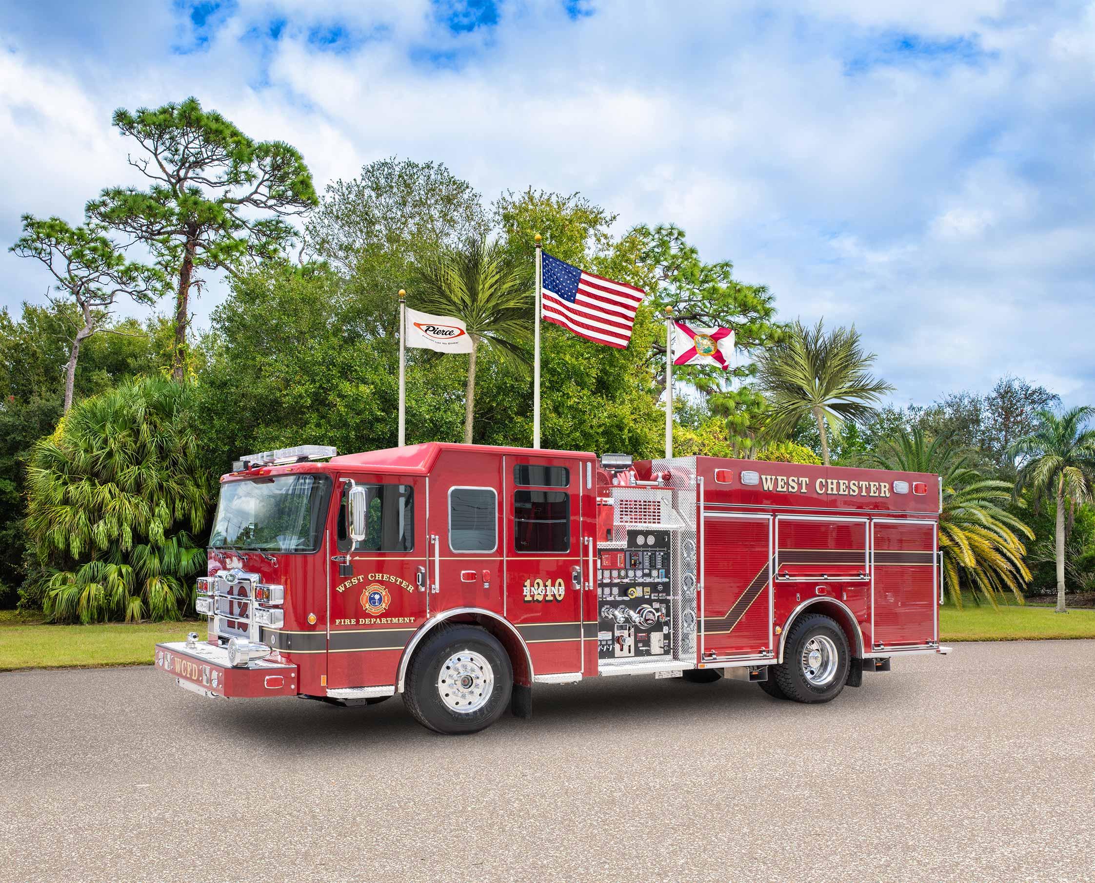 Chester County Fire Service - Pumper