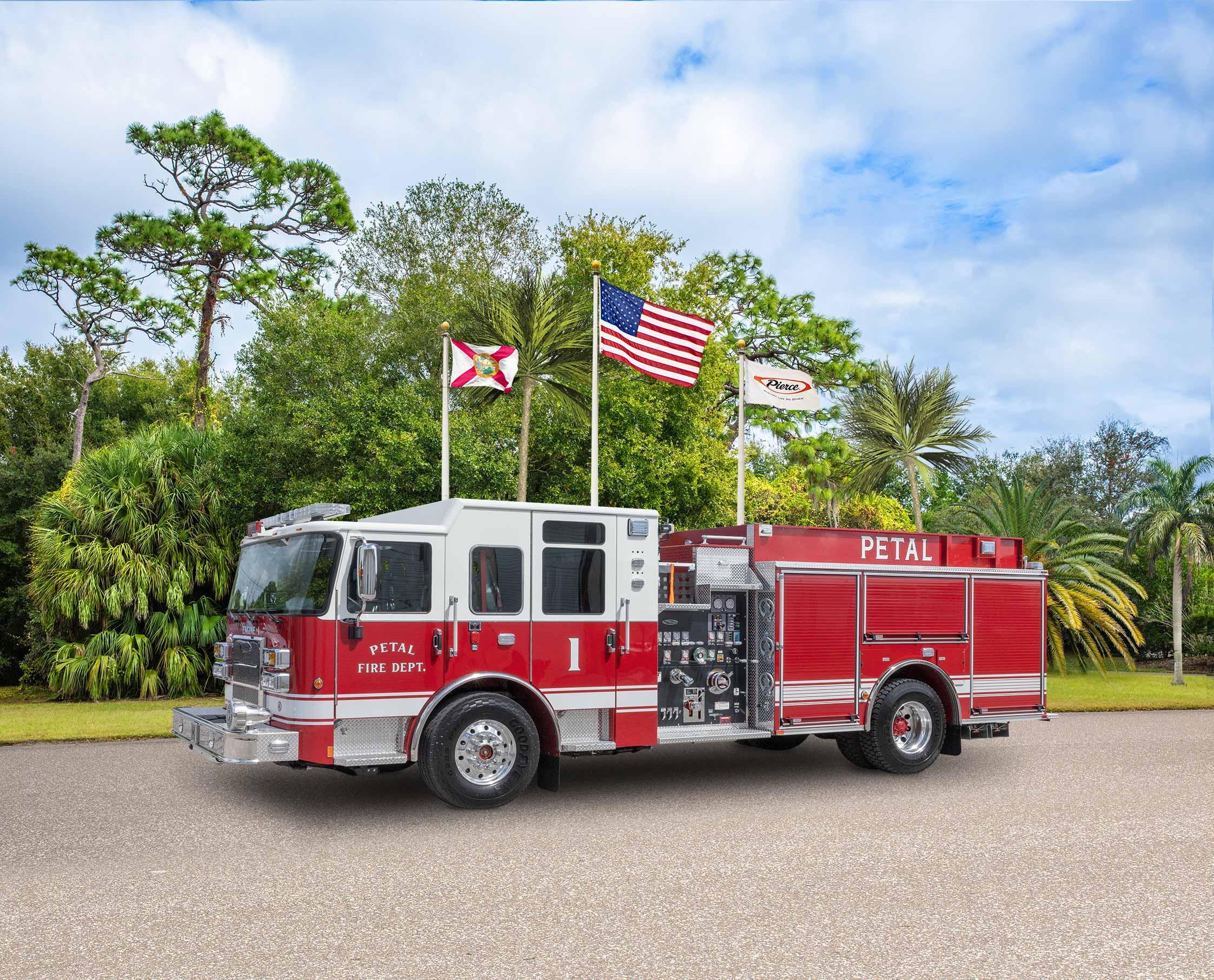 Petal Fire Department - Pumper