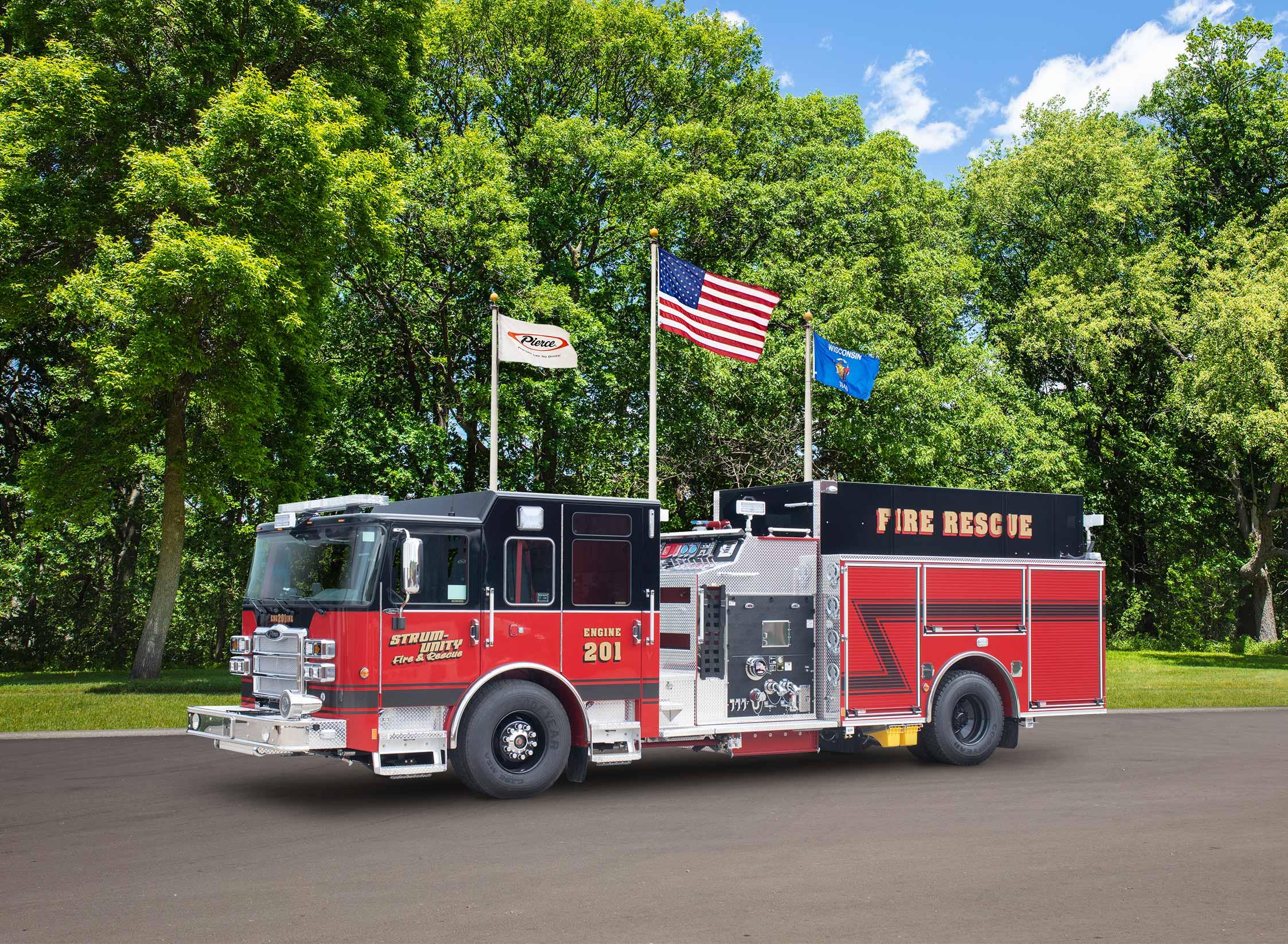 Strum Unity Fire Department - Pumper