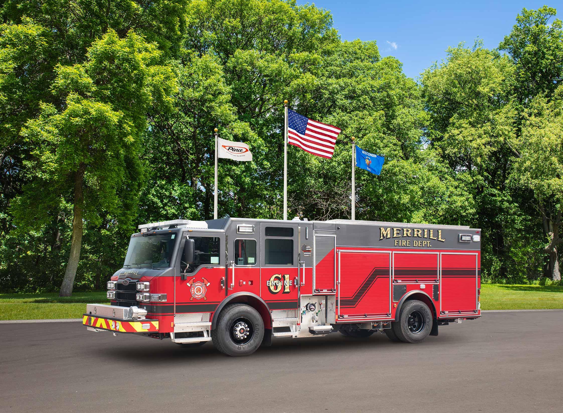 Merrill Fire Department - Pumper
