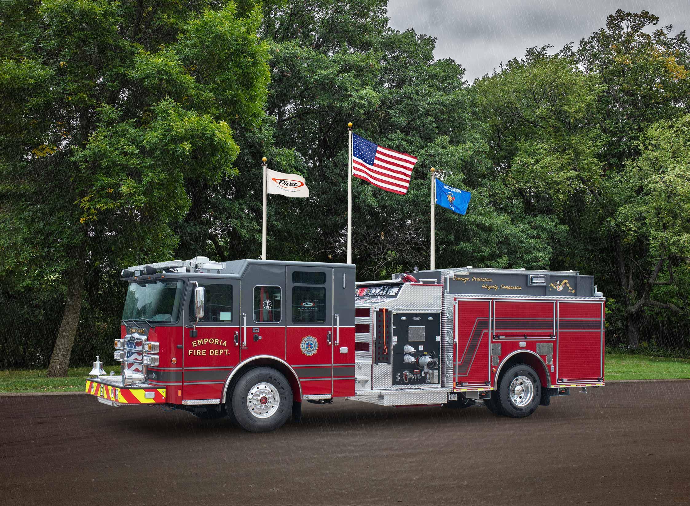 Emporia Fire Department - Pumper