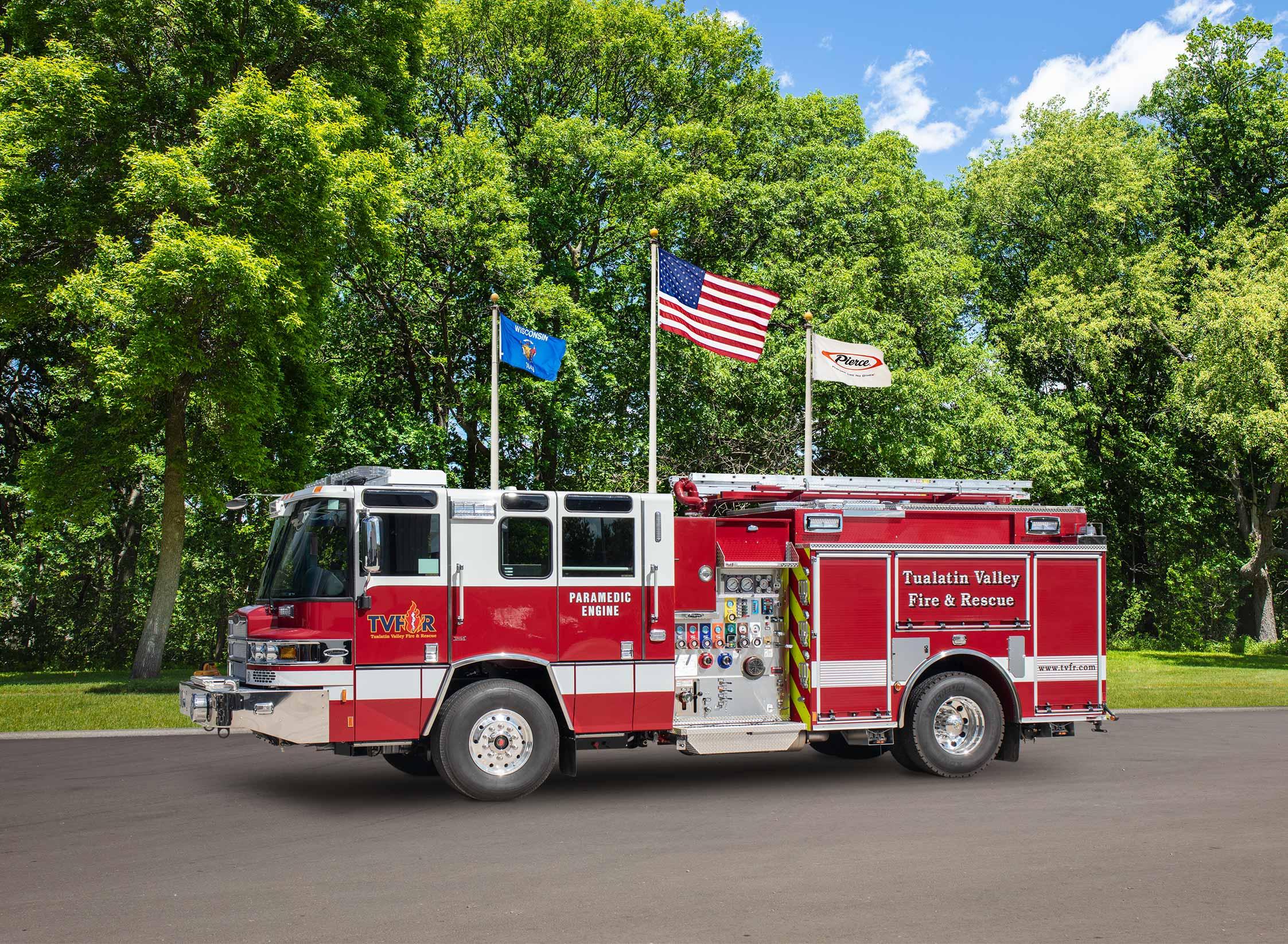 Tualatin Valley Fire & Rescue - Pumper
