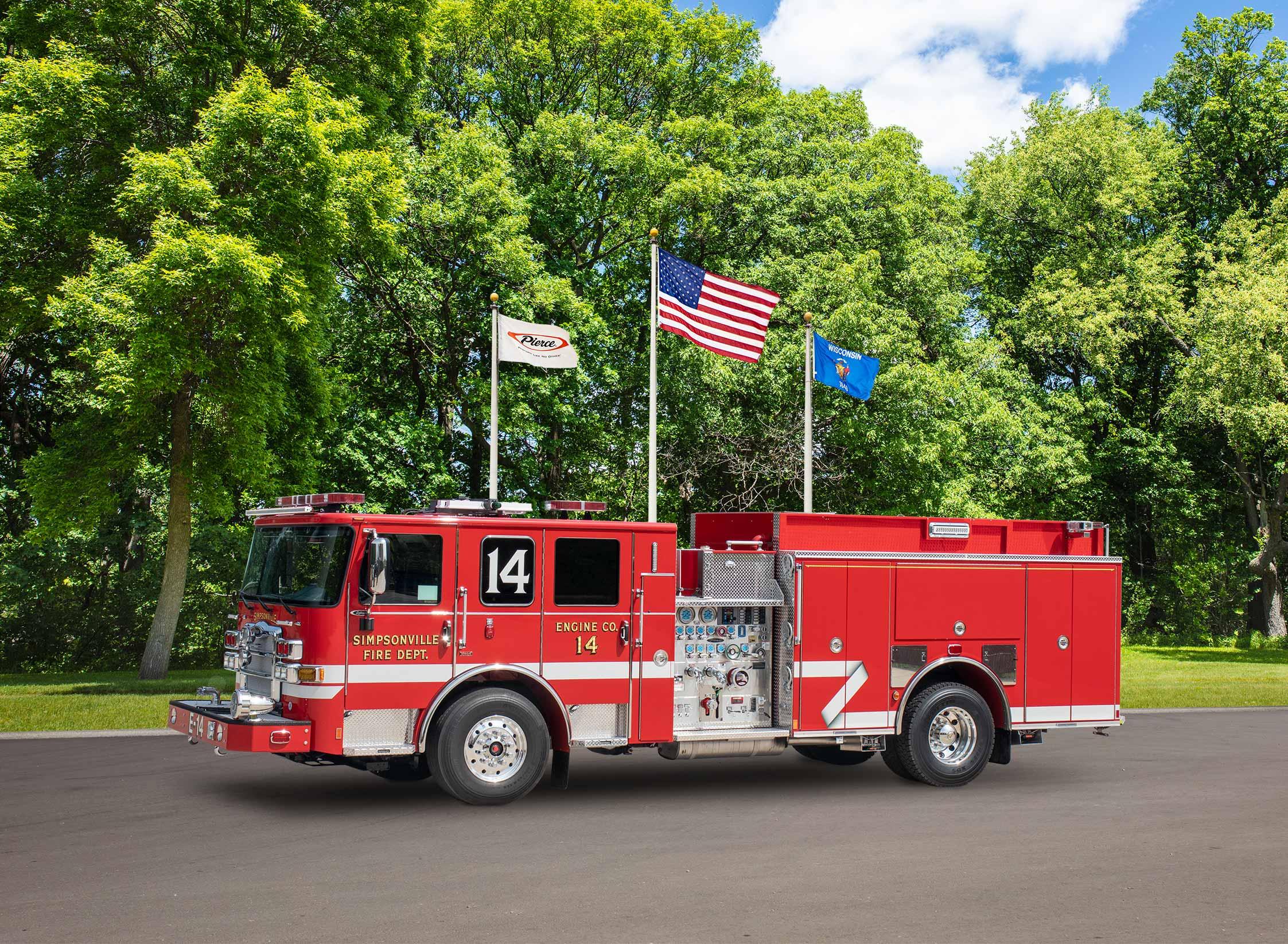 Simpsonville Fire Department - Pumper