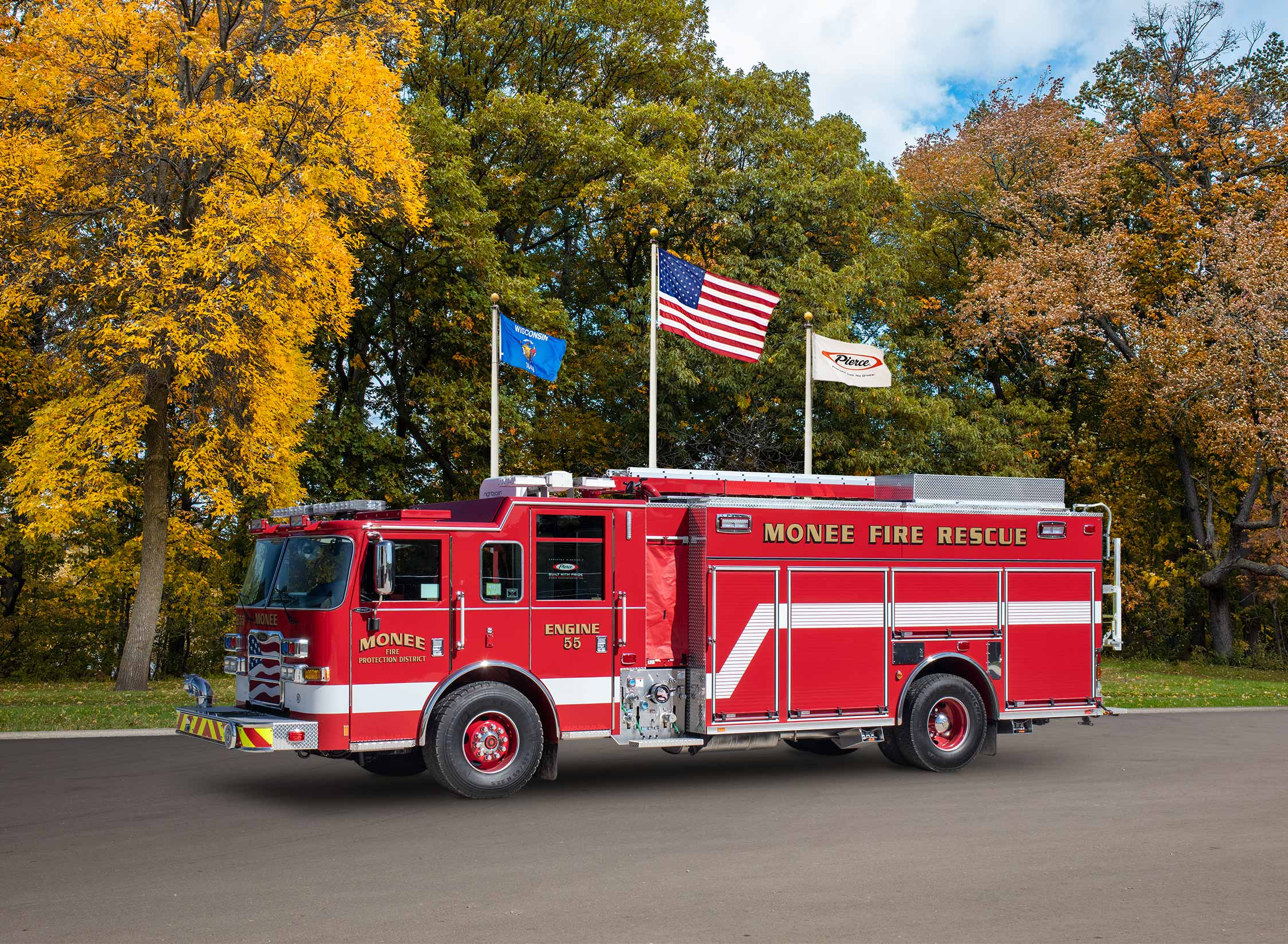 Monee Fire Protection District - Pumper