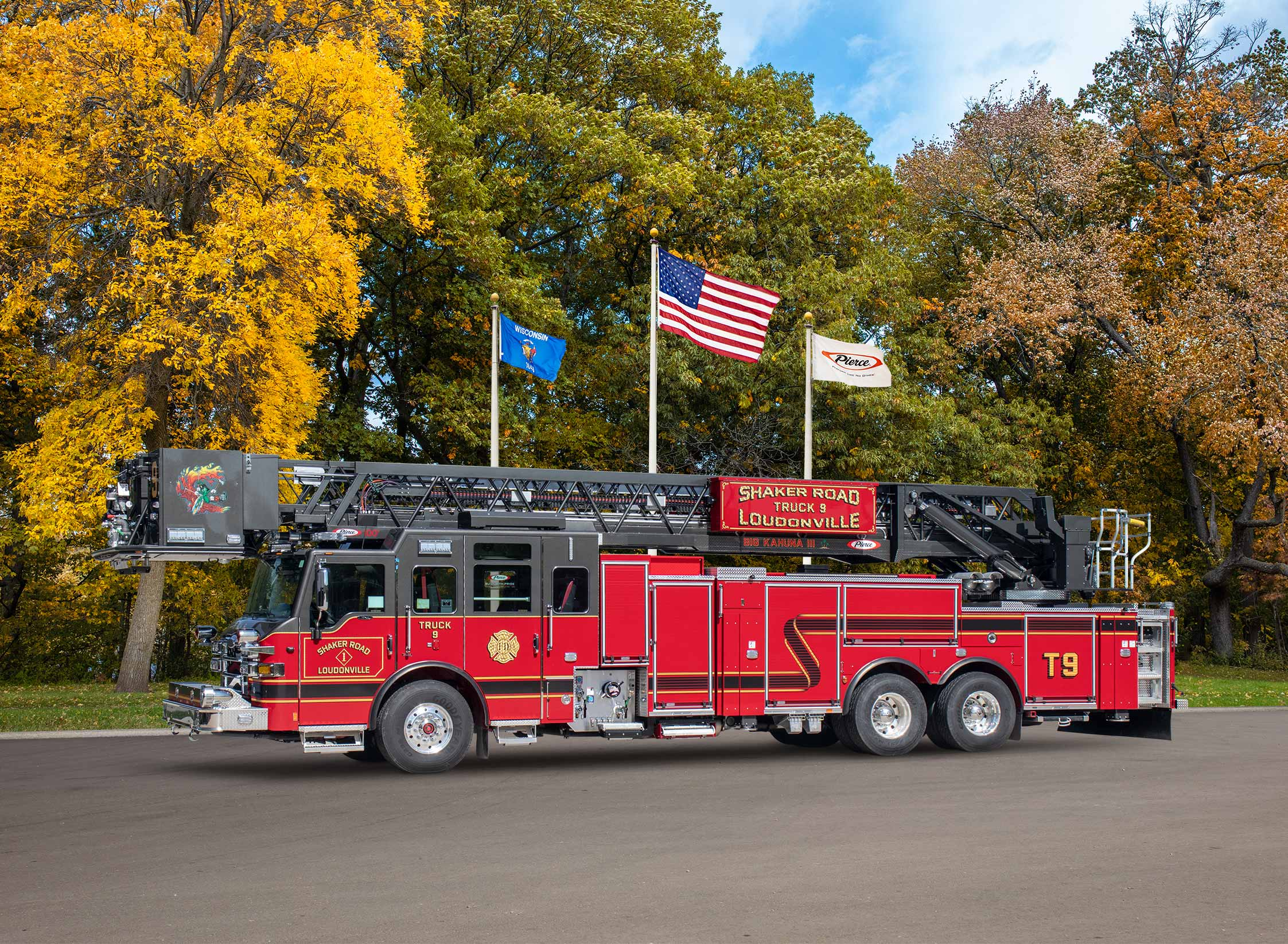 Shaker Road Loudonville Fire Department - Aerial