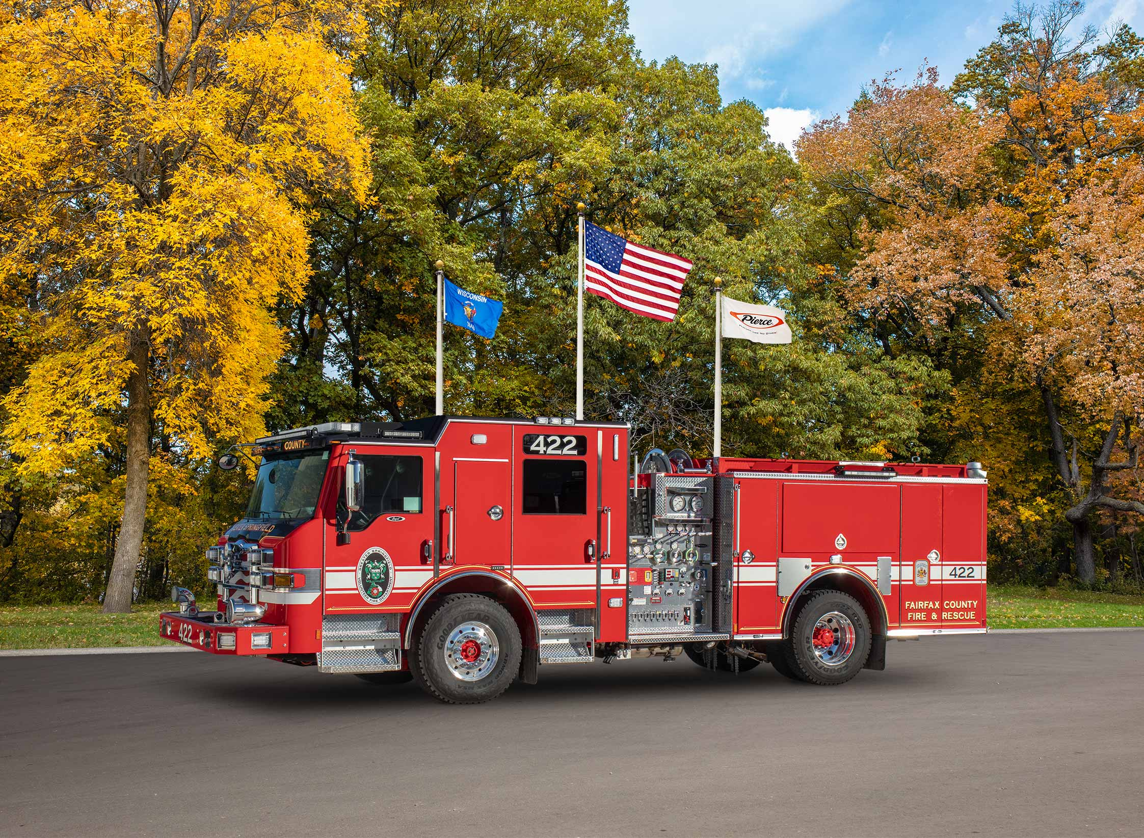 The Greater Springfield Volunteer Fire Department - Pumper