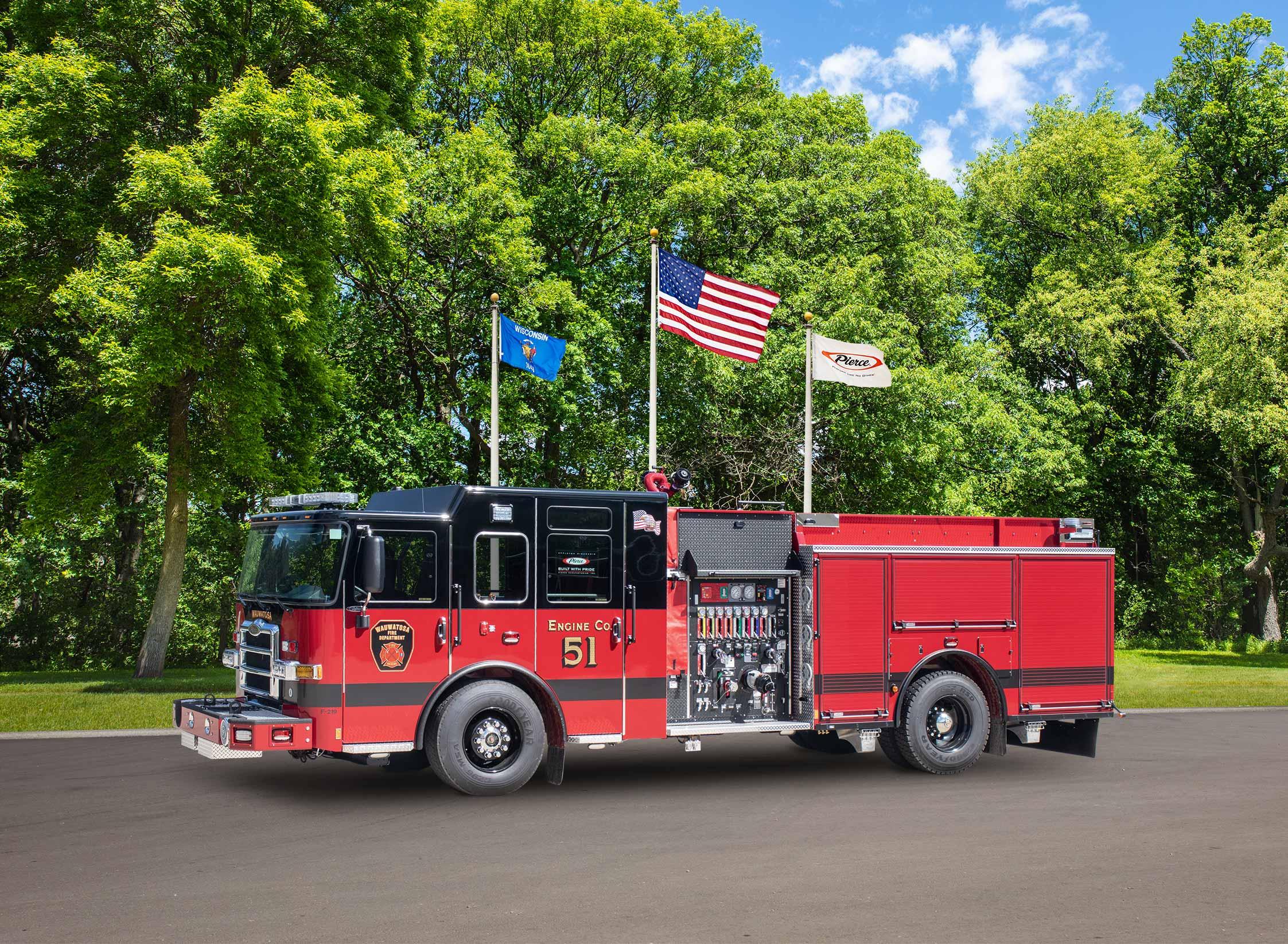 Wauwatosa Fire Department - Pumper