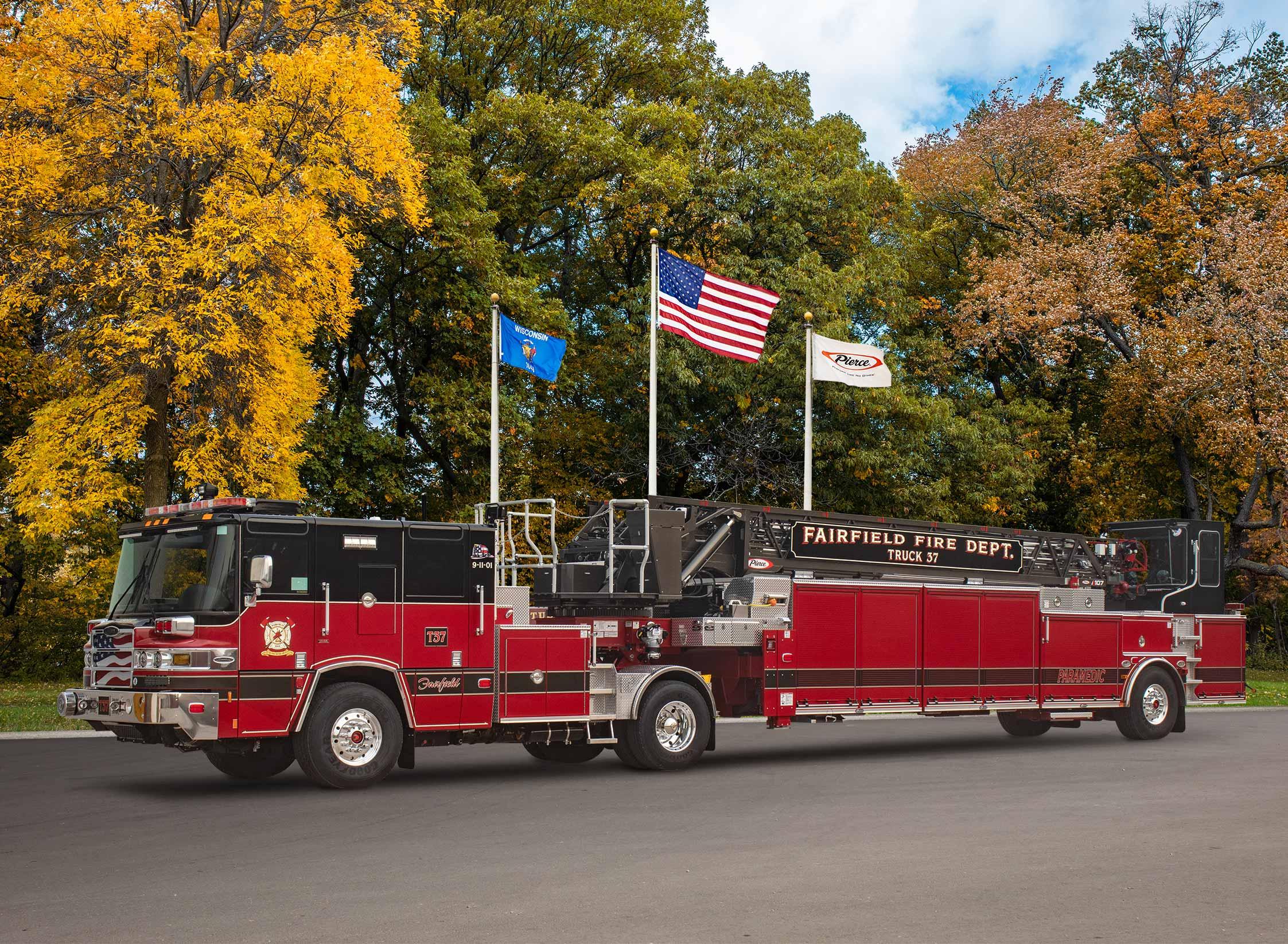 Fairfield Fire Department - Aerial