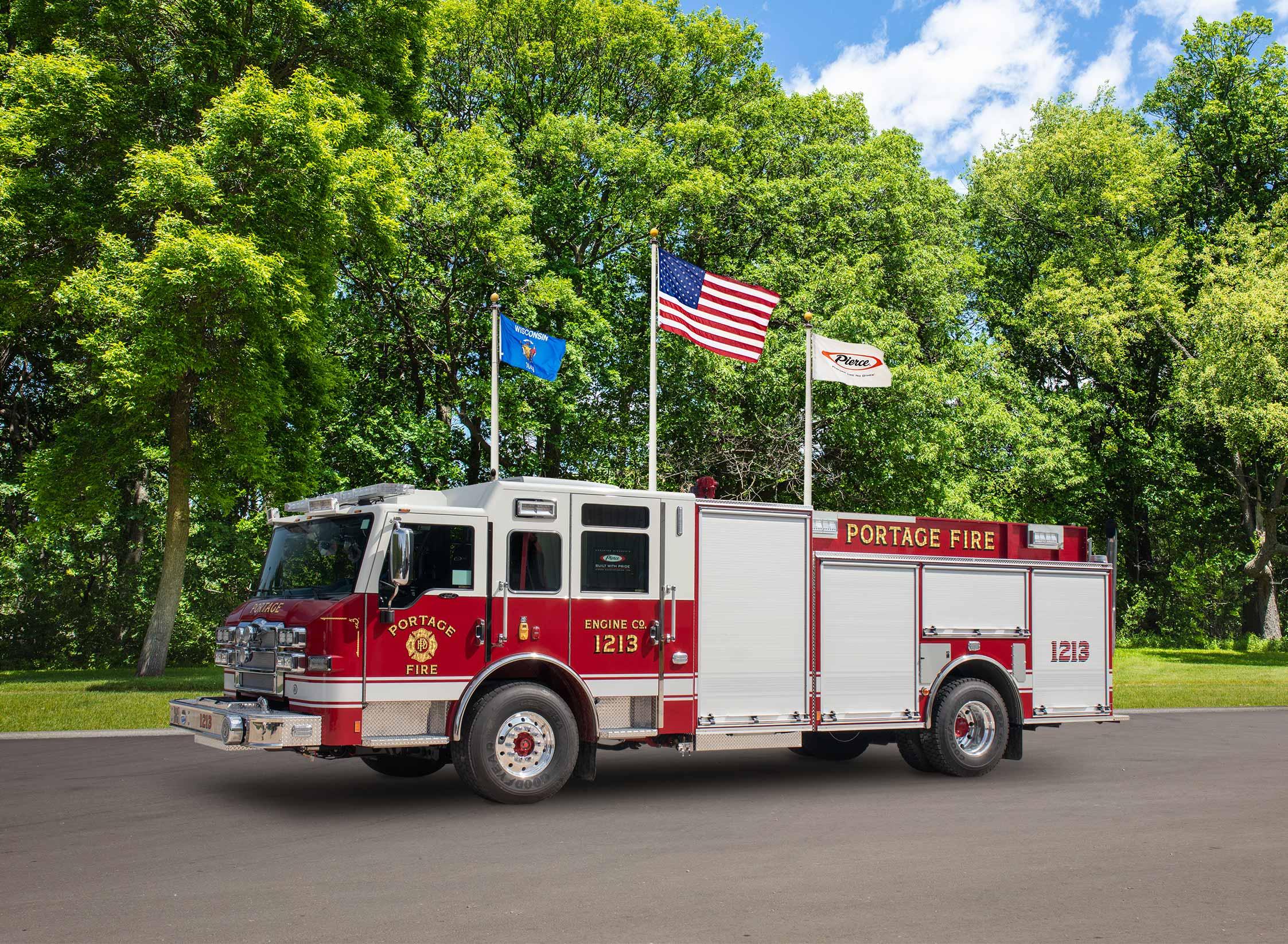 City of Portage Fire Department - Pumper