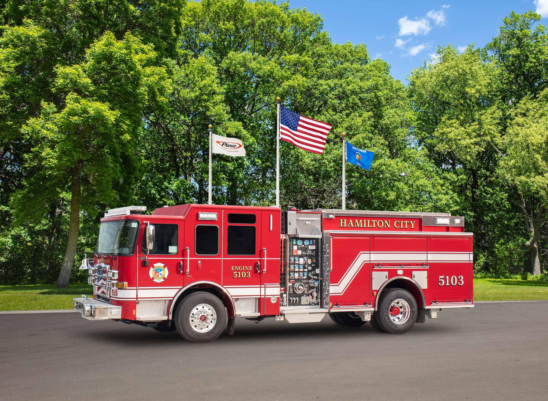 Hamilton City Fire Protection District - Pumper