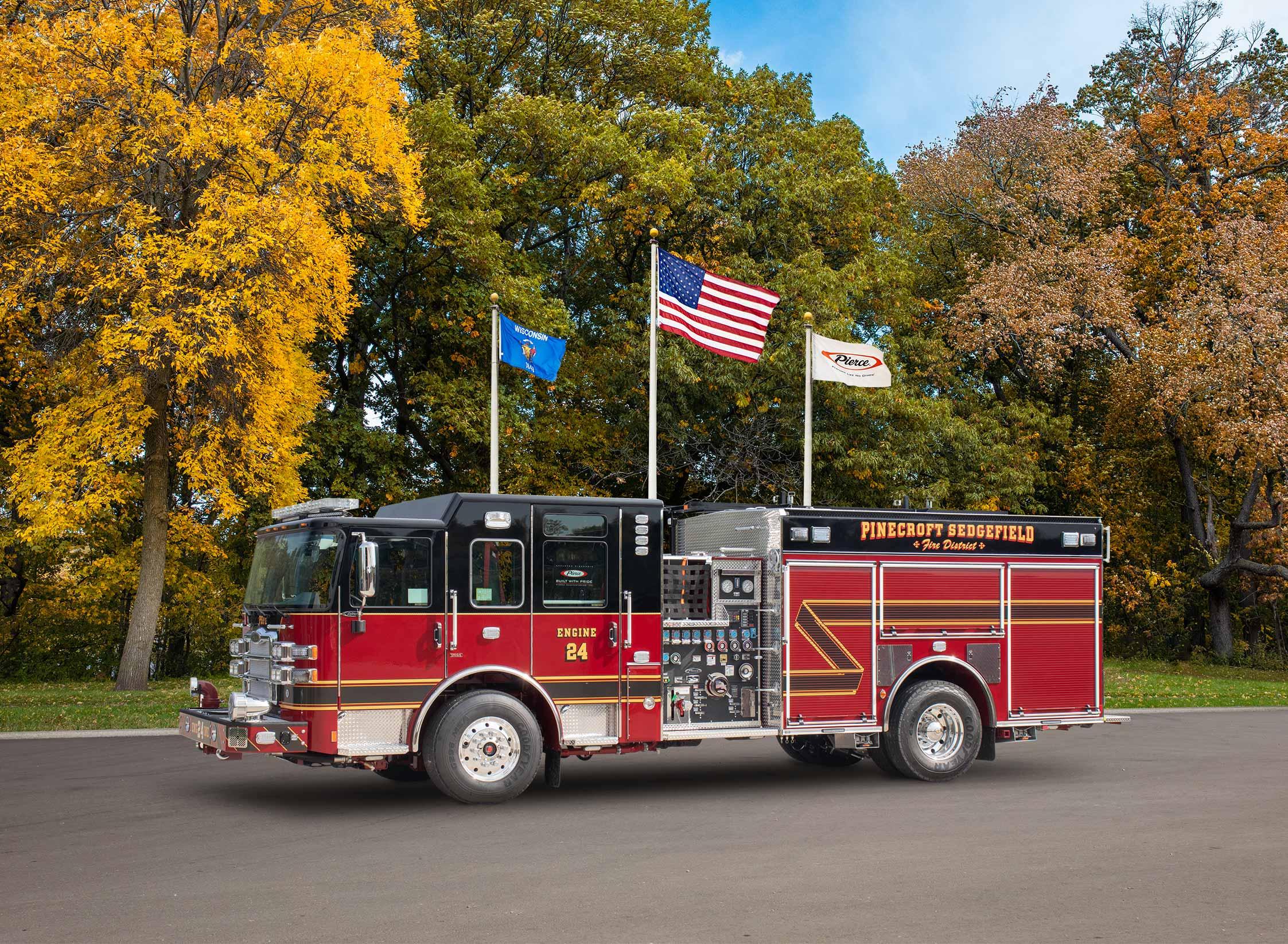 Pinecroft-Sedgefield Fire Department - Pumper