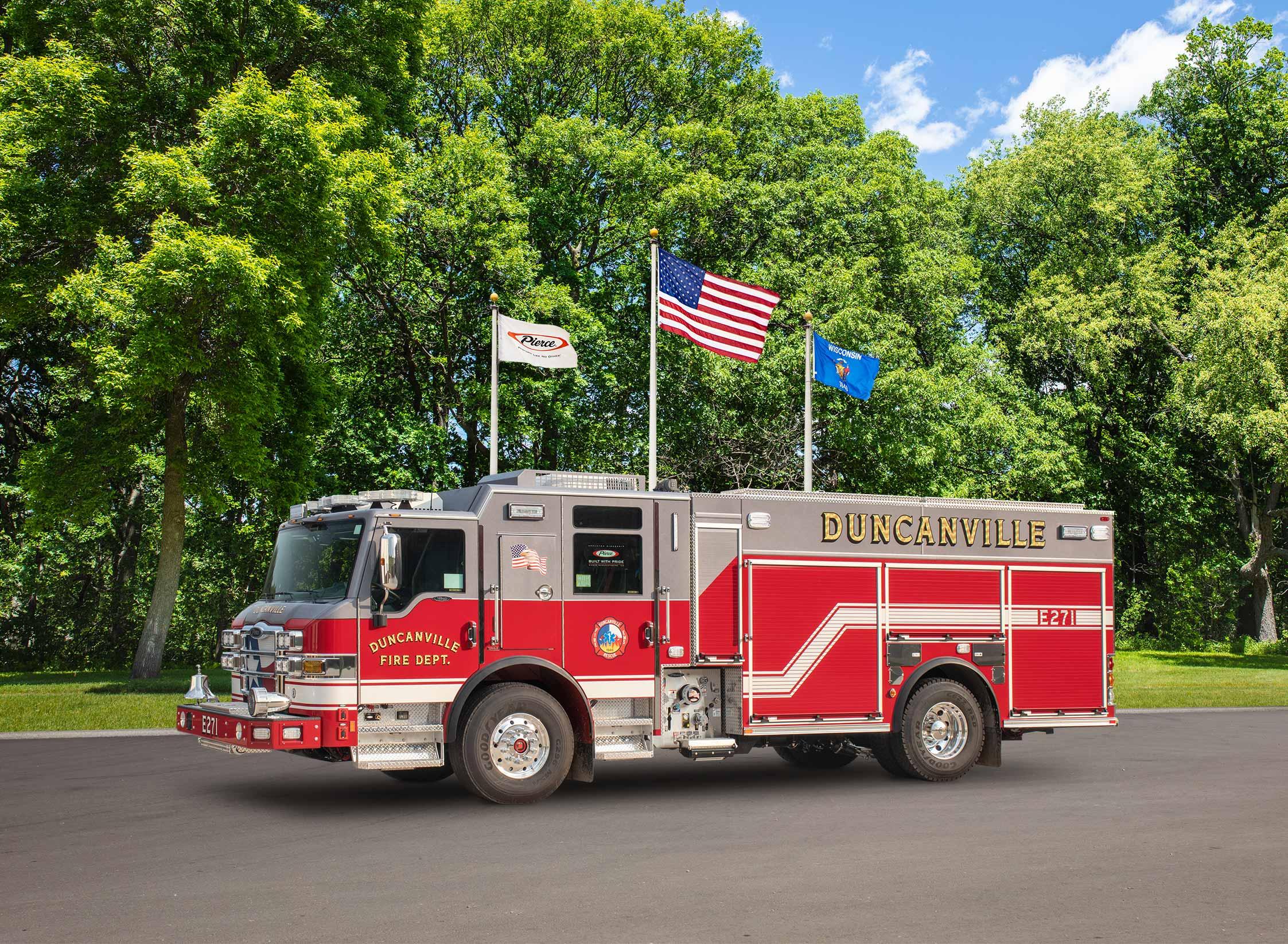 Duncanville Fire Department - Pumper