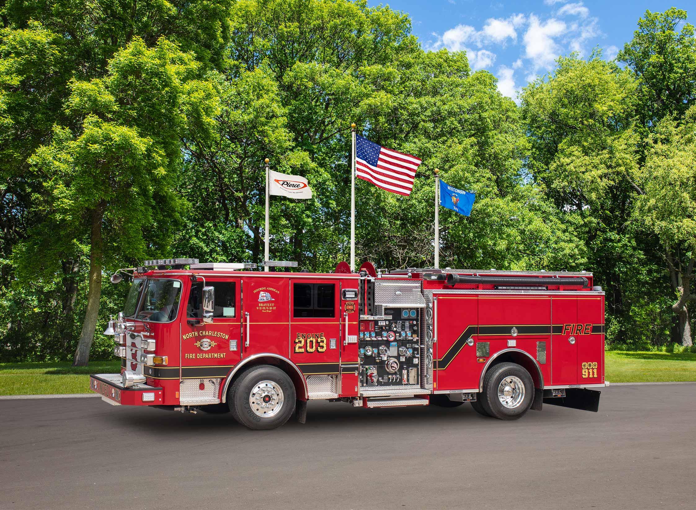 North Charleston Fire Department - Pumper