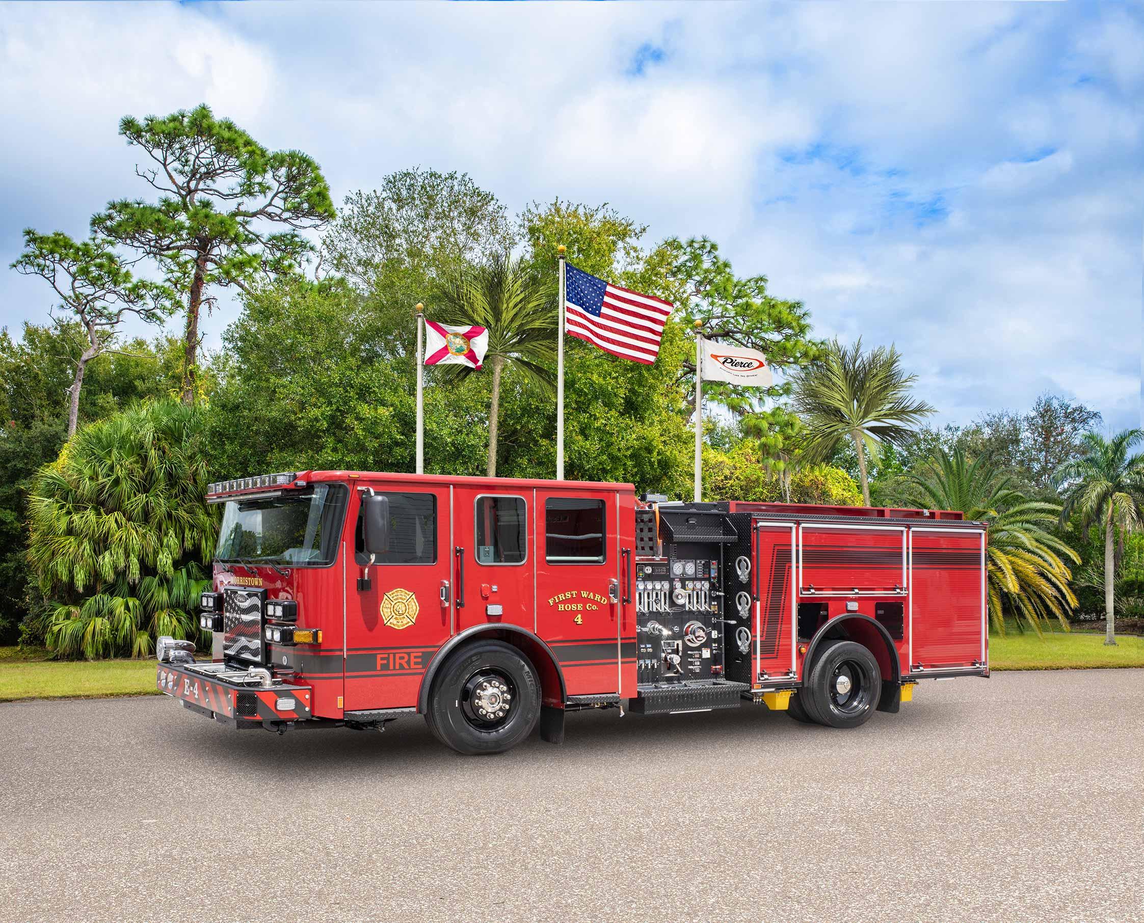 Morristown Fire Department - Pumper
