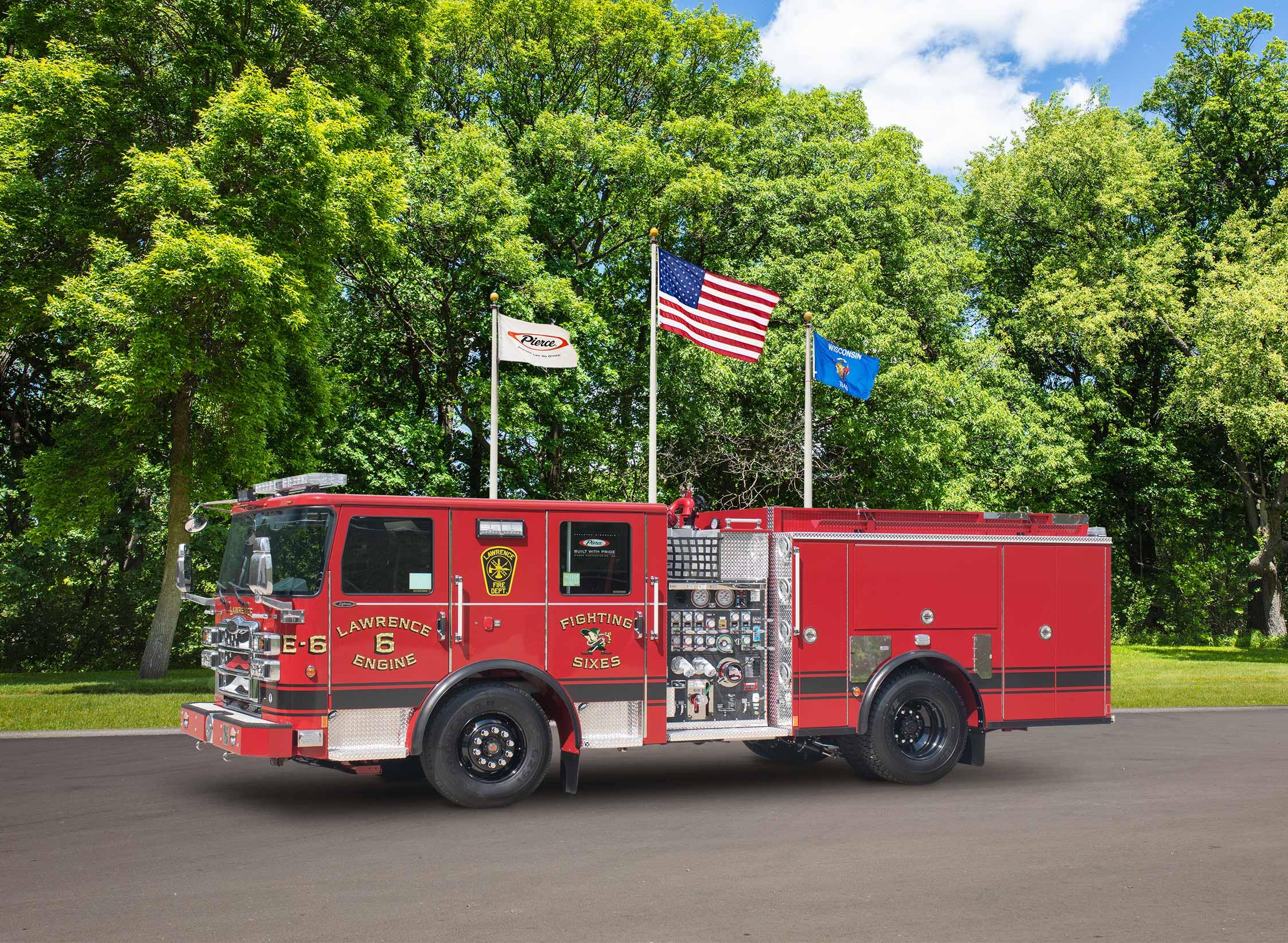 Lawrence Fire Department - Pumper
