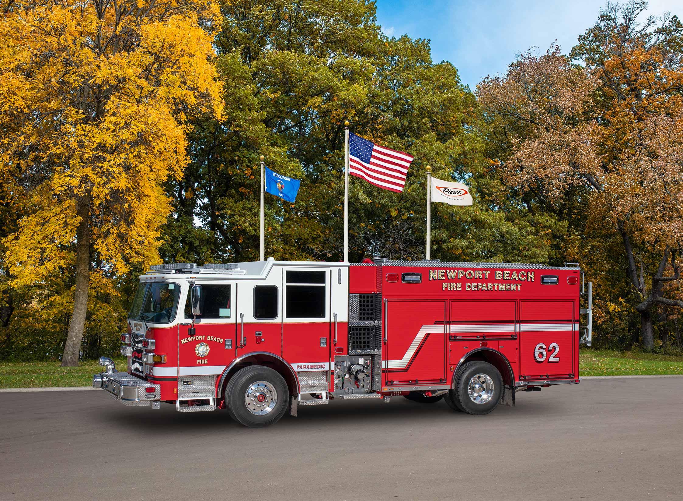 Newport Beach Fire Department - Pumper