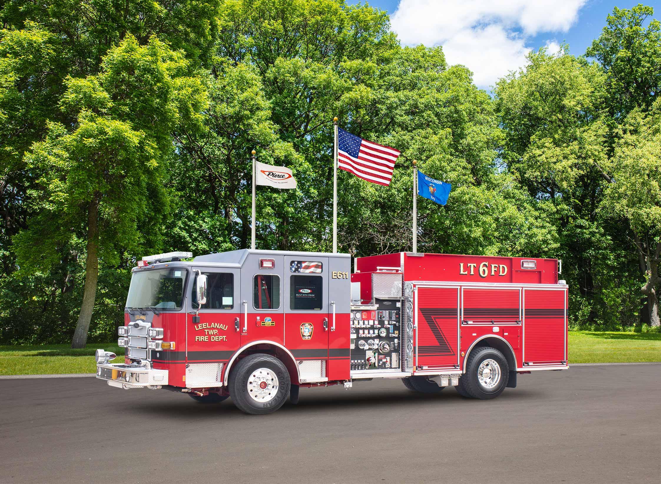 Leelanau Township Emergency Services - Pumper