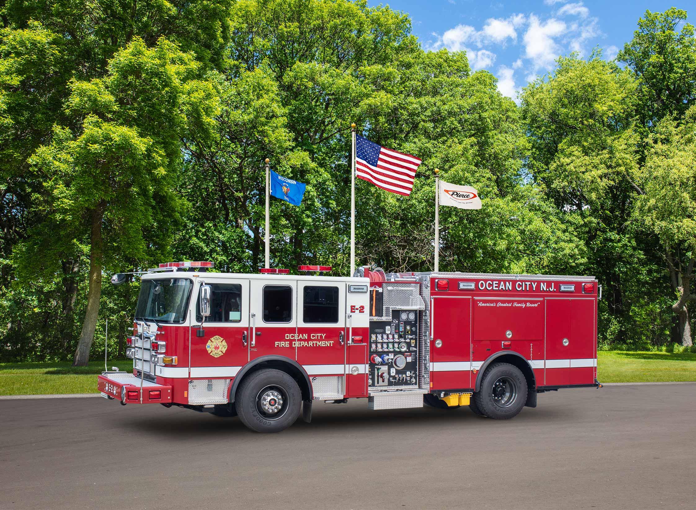 Ocean City Fire Department - Pumper