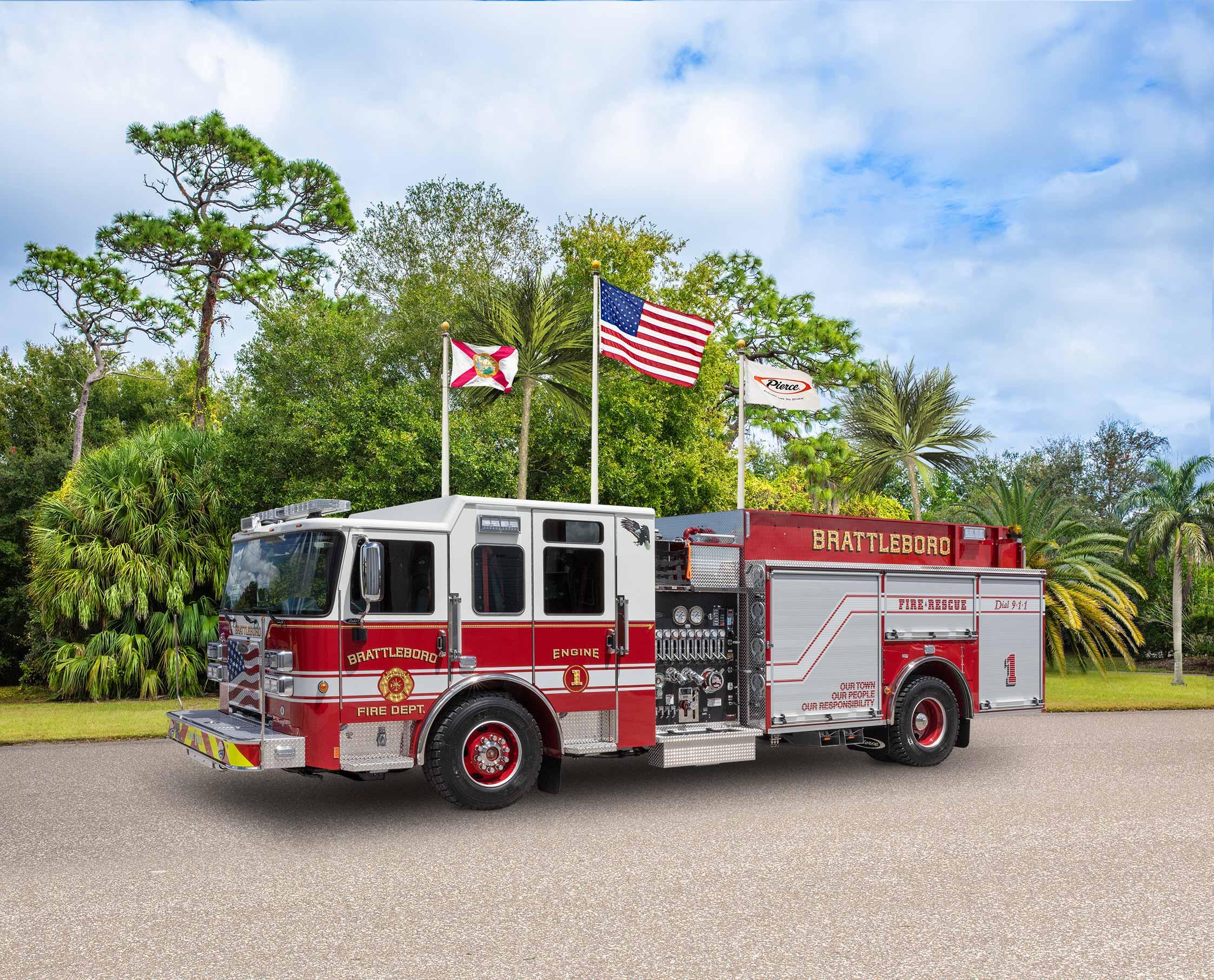 Brattleboro Fire Department - Pumper
