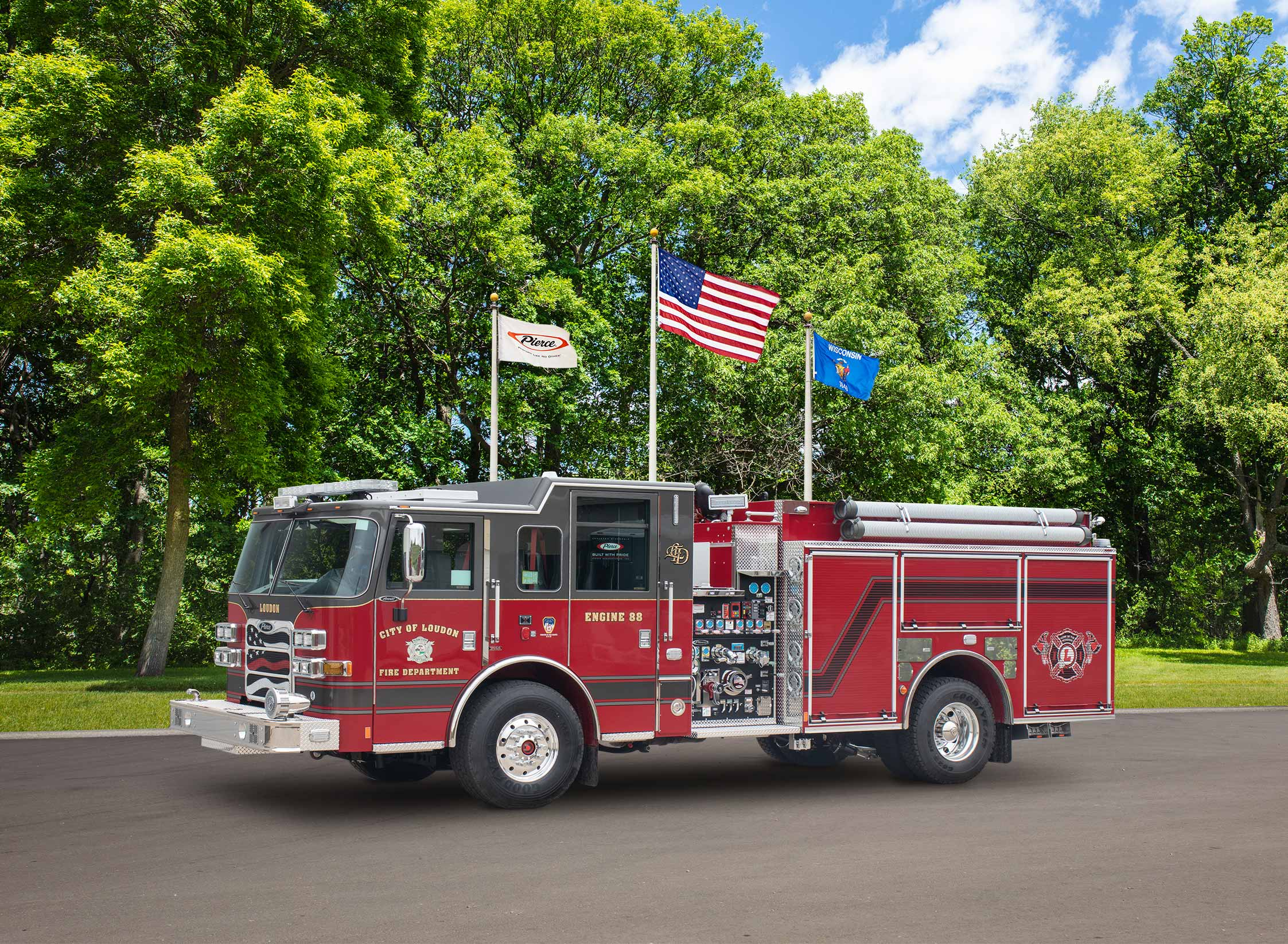 City of Loudon Fire Department - Pumper