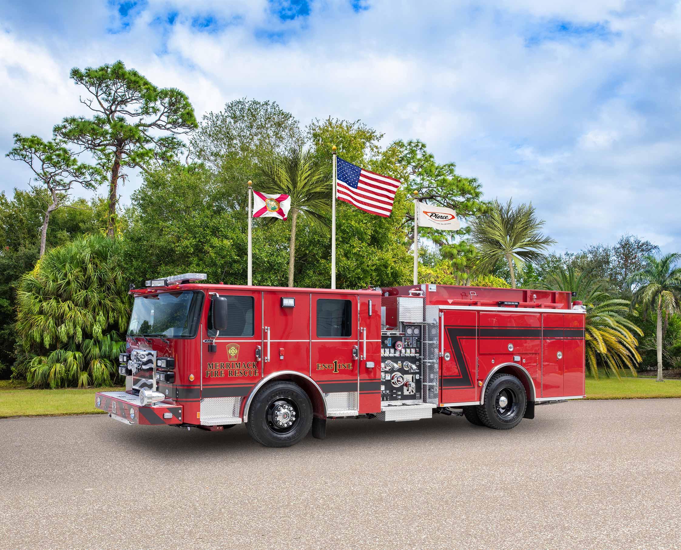 Merrimack Fire Department - Pumper