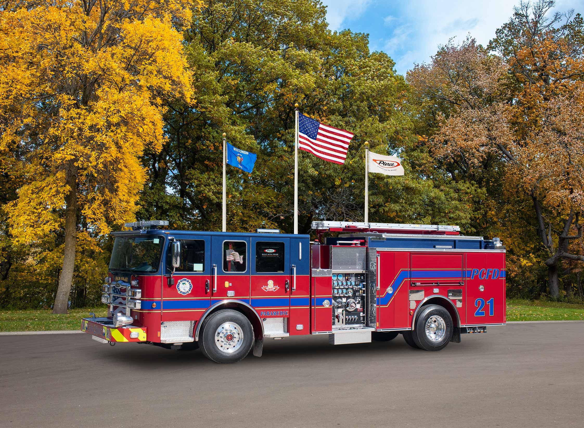 Palm Coast Fire Department - Pumper