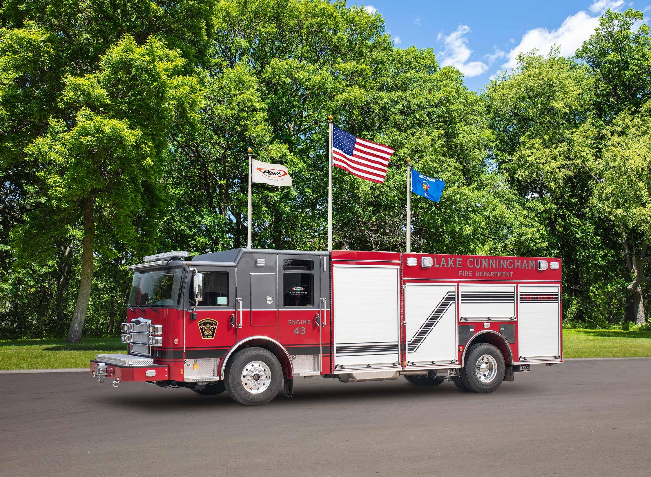 Lake Cunningham Fire Department - Pumper
