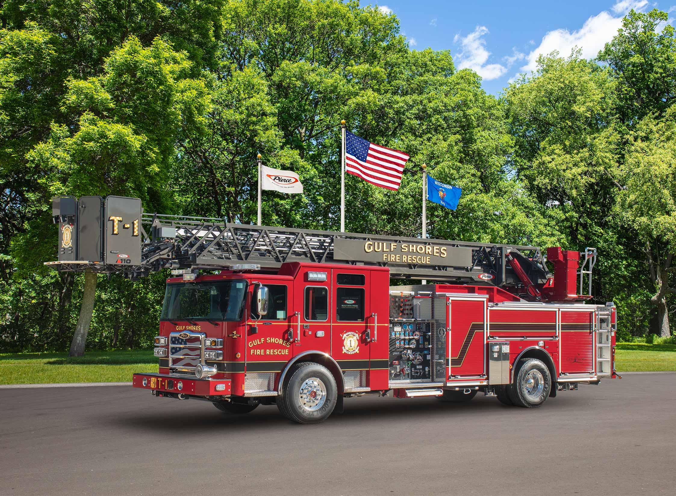 Gulf Shores Fire Rescue - Aerial
