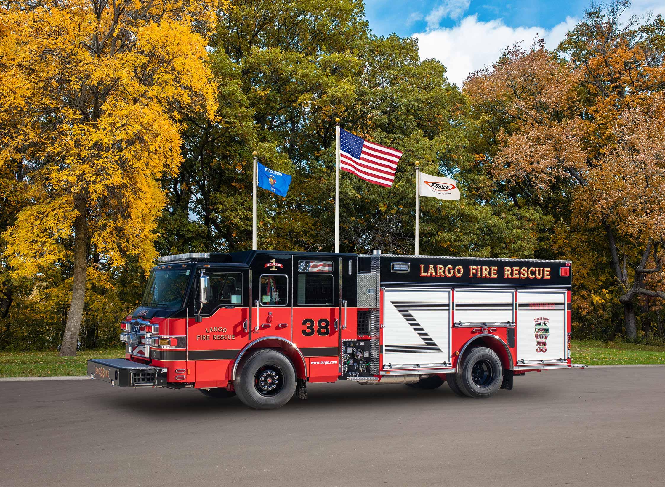 City of Largo Fire Department - Pumper