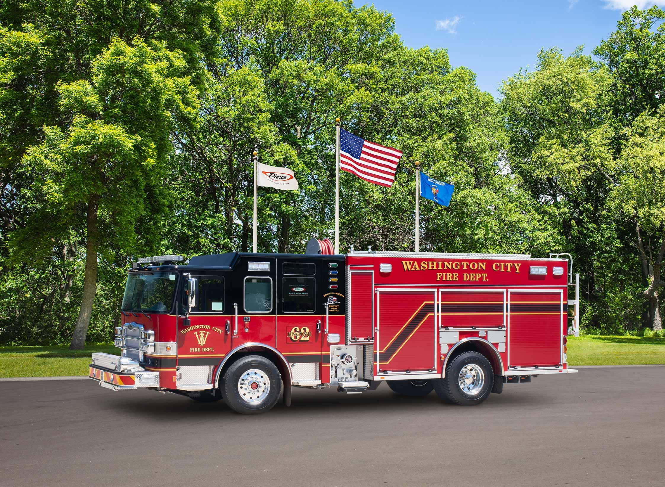 Washington City Fire Department - Pumper