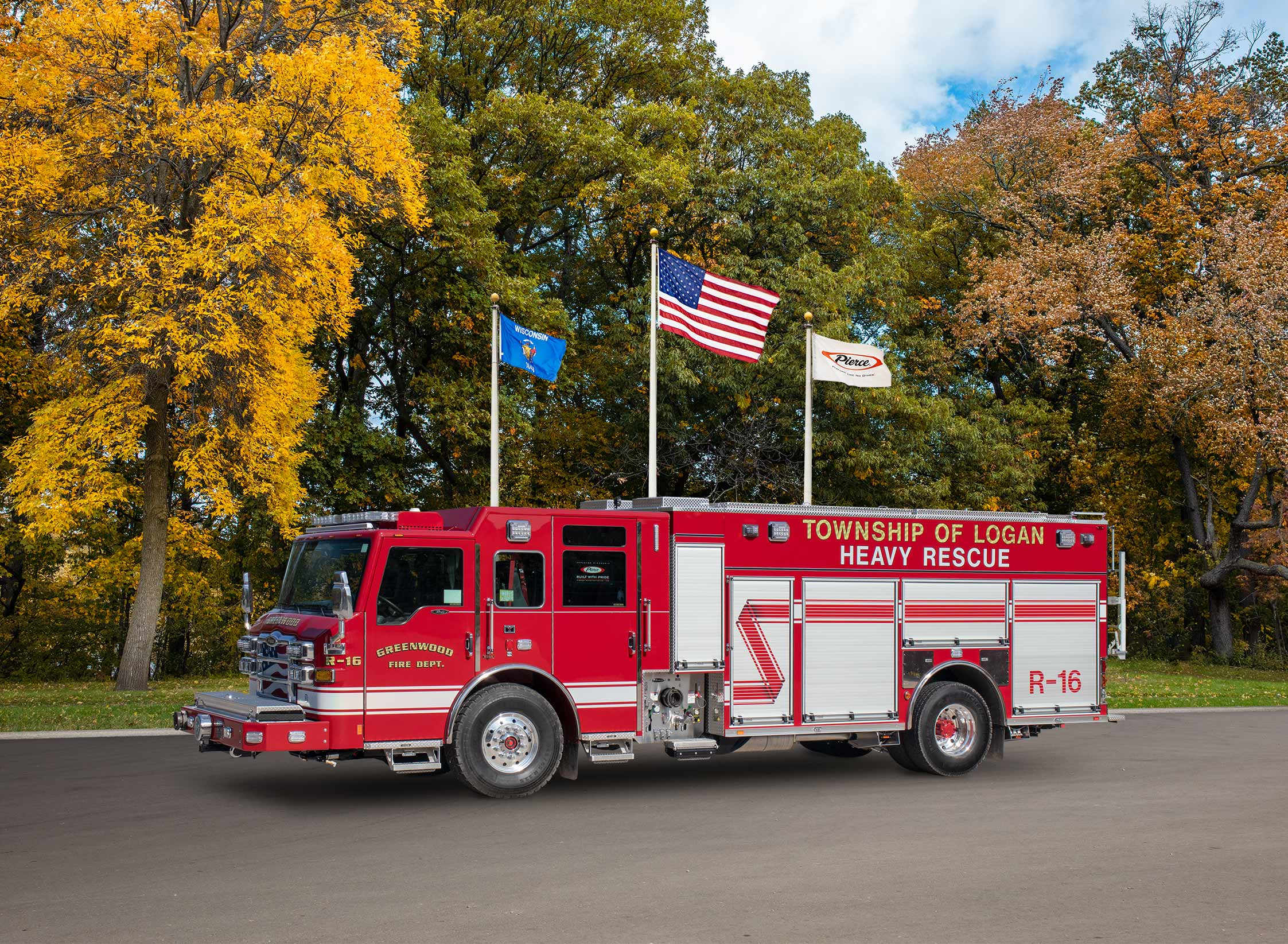 Logan Township Greenwood Fire Company - Pumper