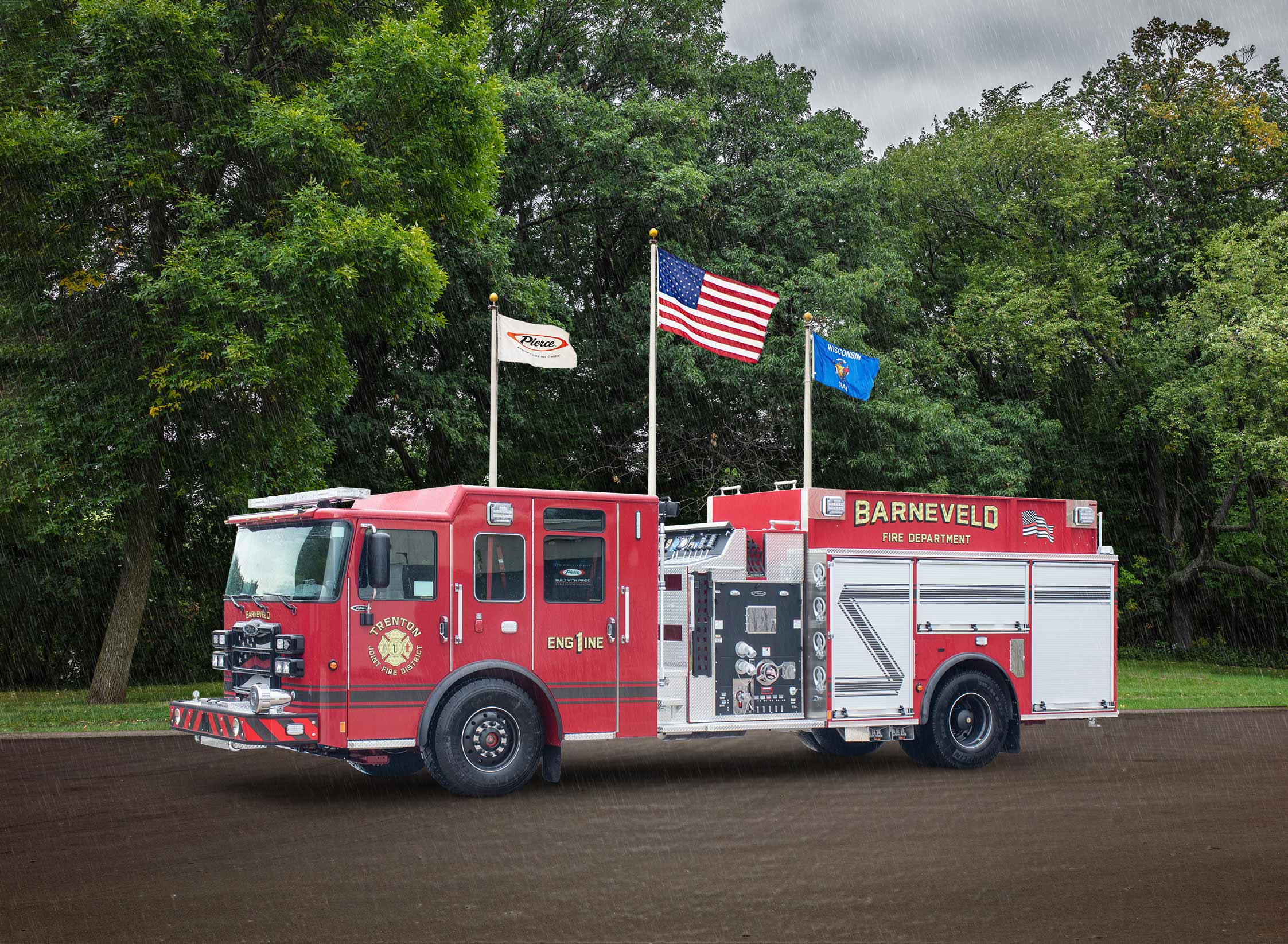 Trenton Joint Fire District - Pumper
