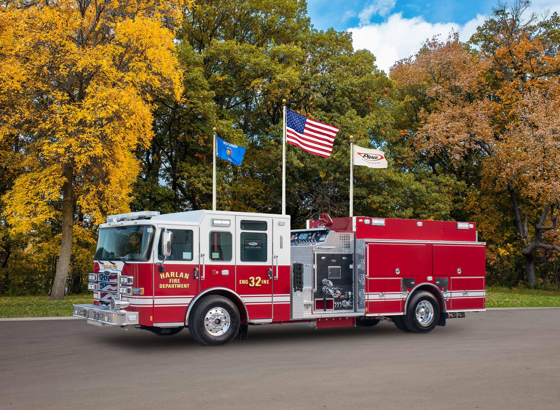 Harlan Fire Department - Pumper