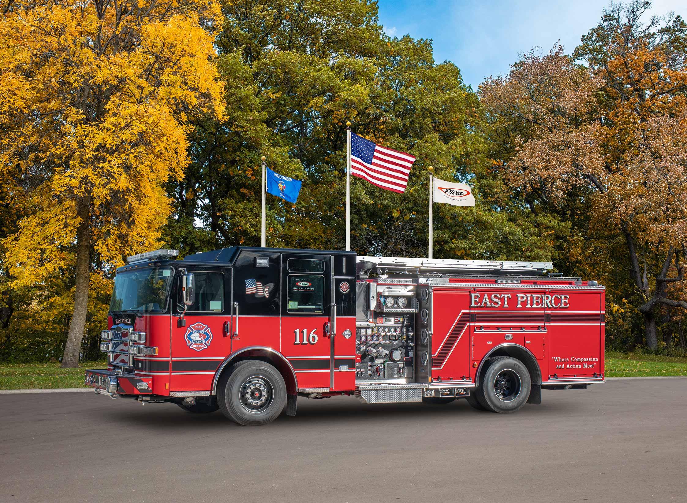 East Pierce Fire & Rescue - Pumper