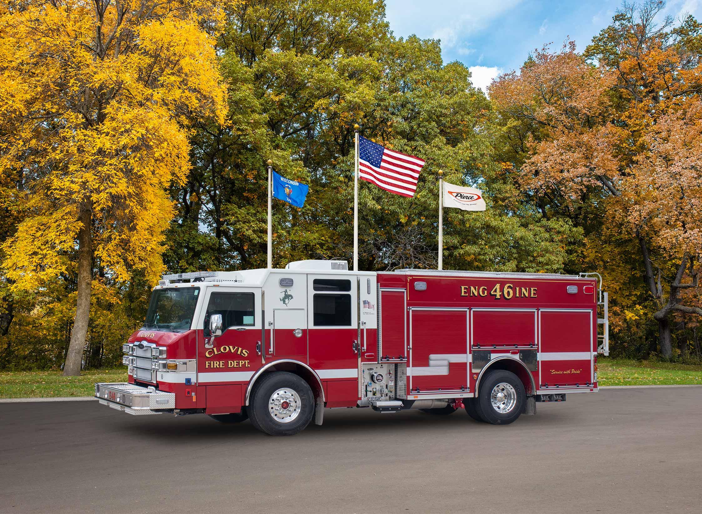 Clovis Fire Department - Pumper