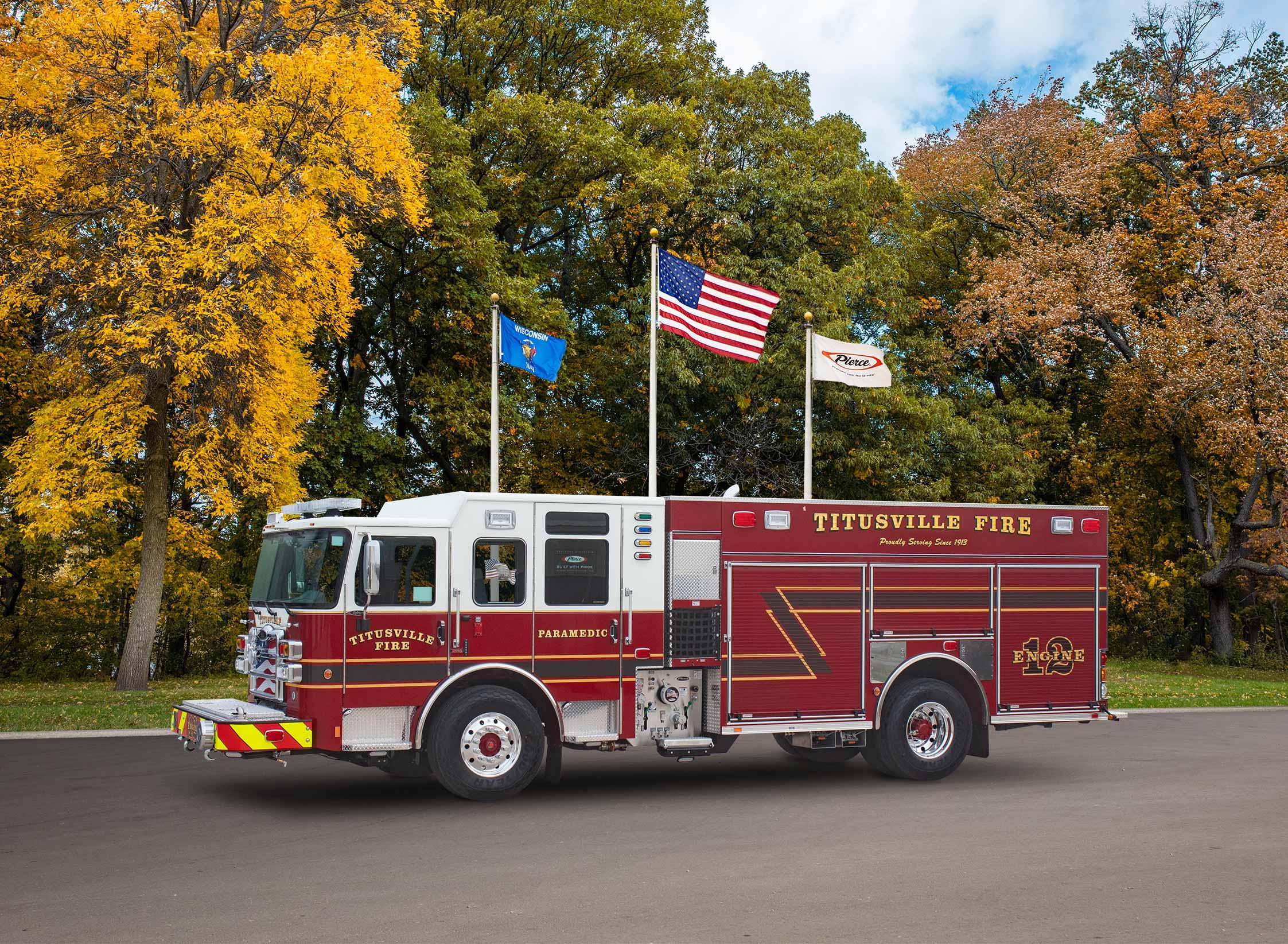 Titusville Fire Department - Pumper