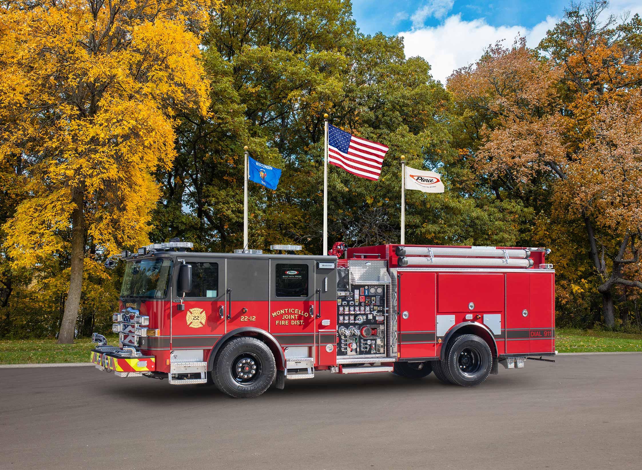 Monticello Fire District - Pumper