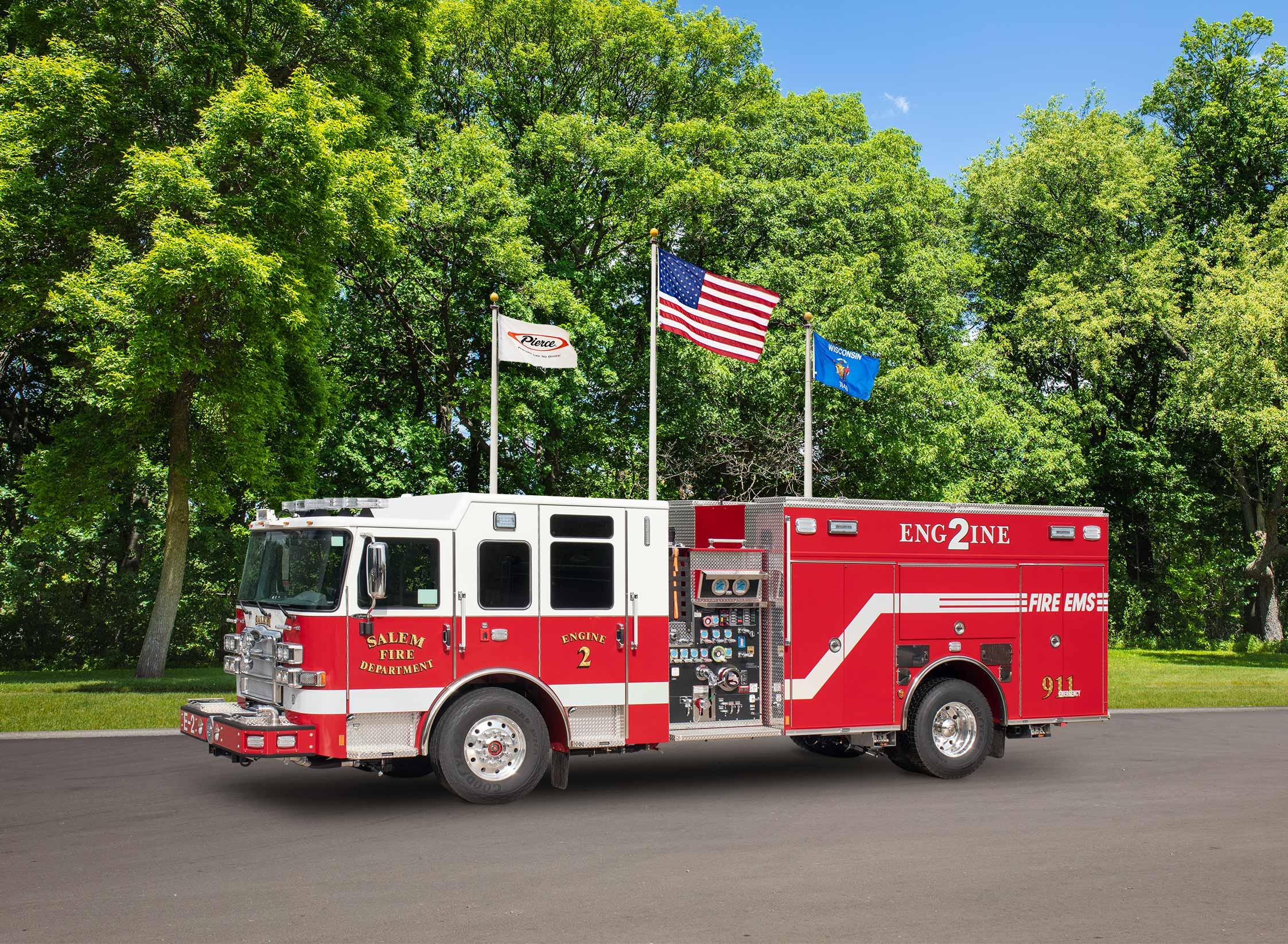 Salem Fire - EMS - Pumper
