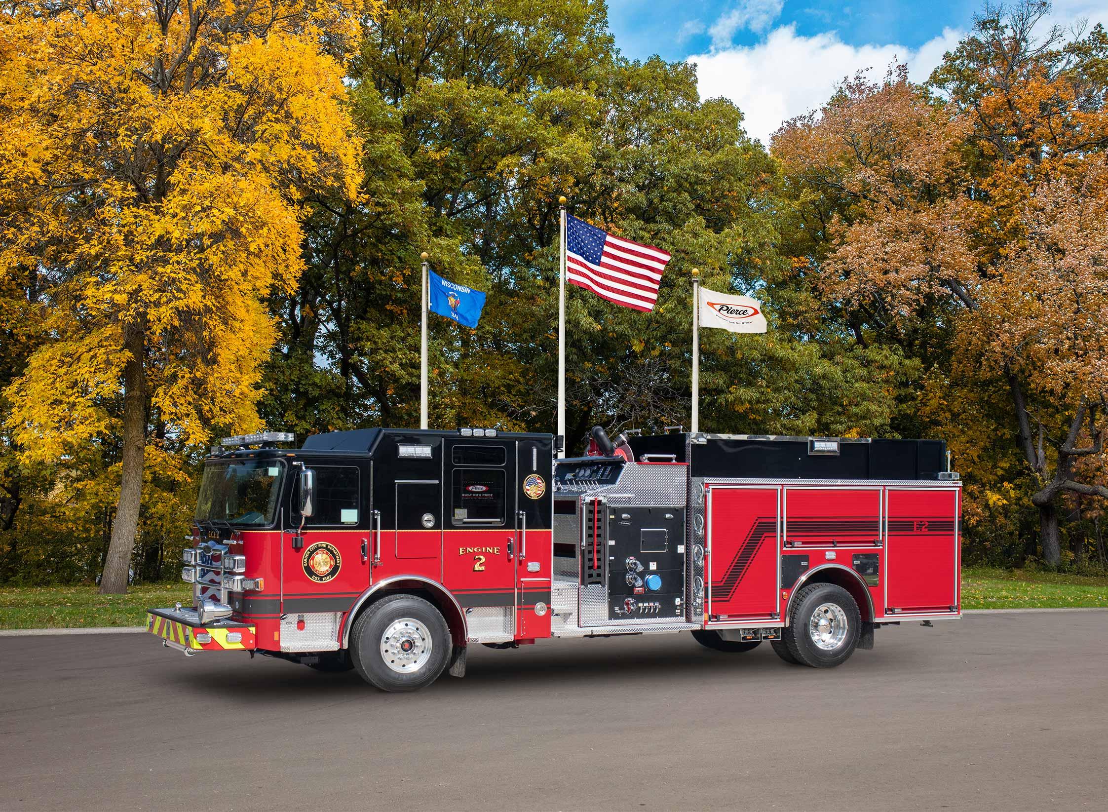 Garden City Fire Department - Pumper
