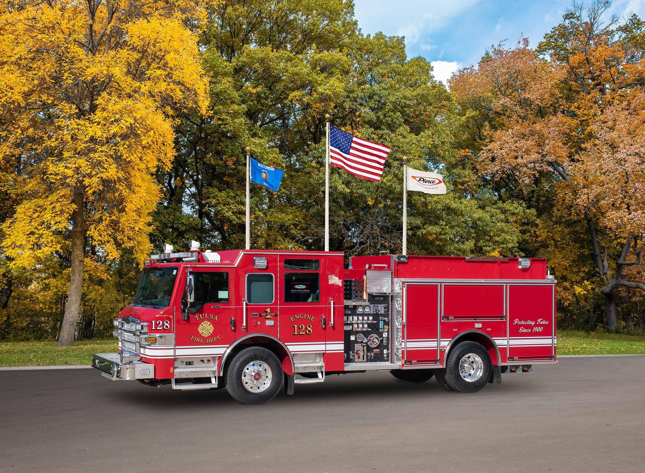 Tulsa Fire Department - Pumper