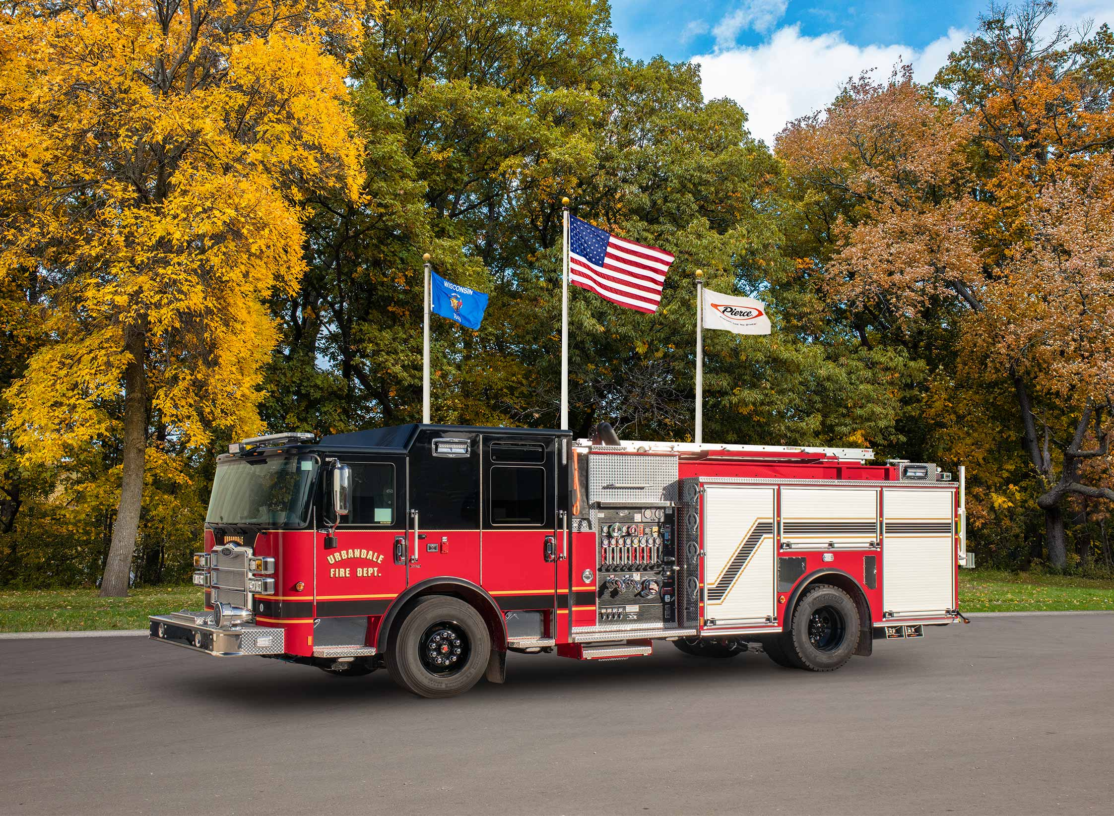 City of Urbandale Fire Department - Pumper