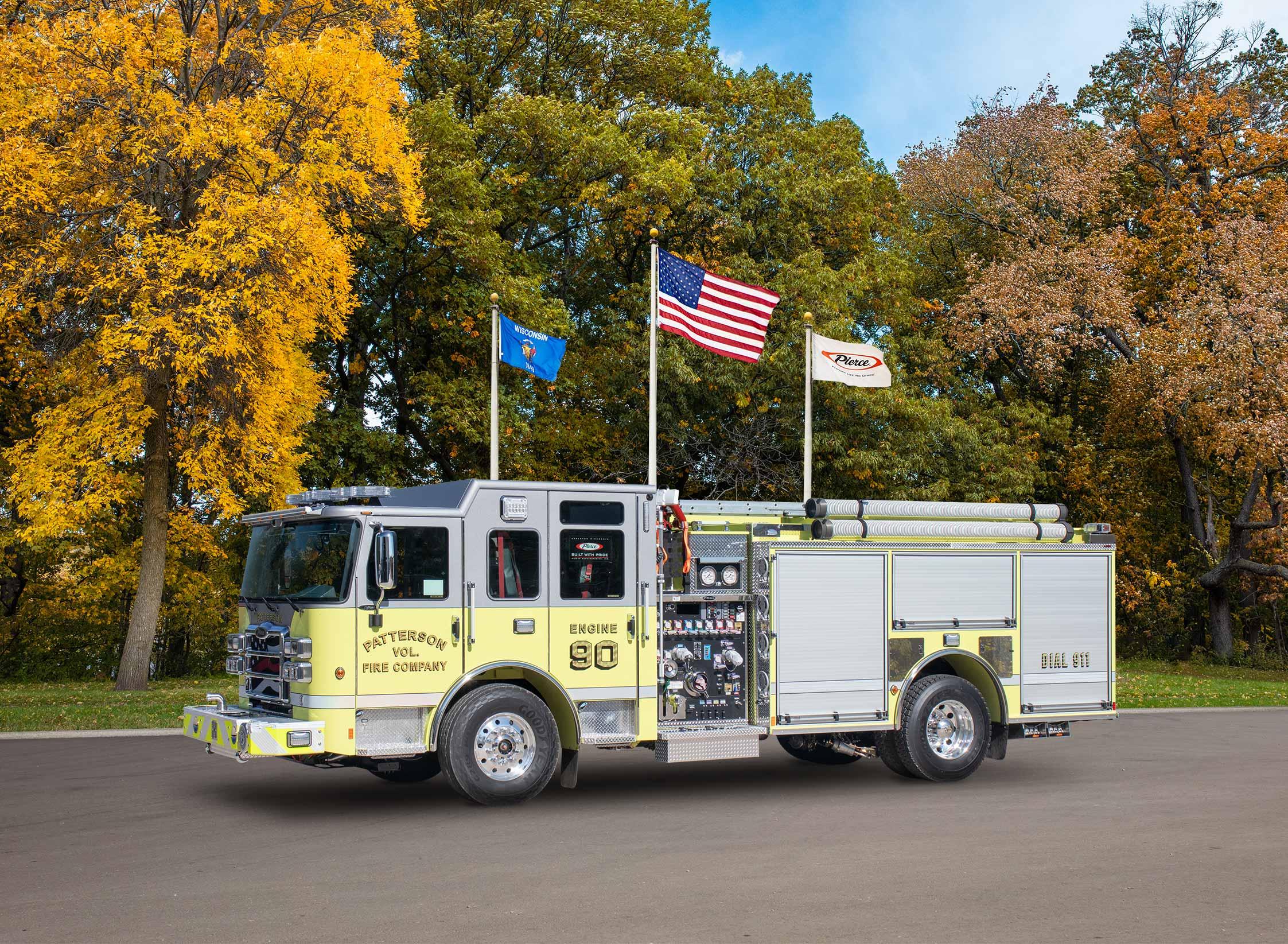 Patterson Township Volunteer Fire Department - Pumper
