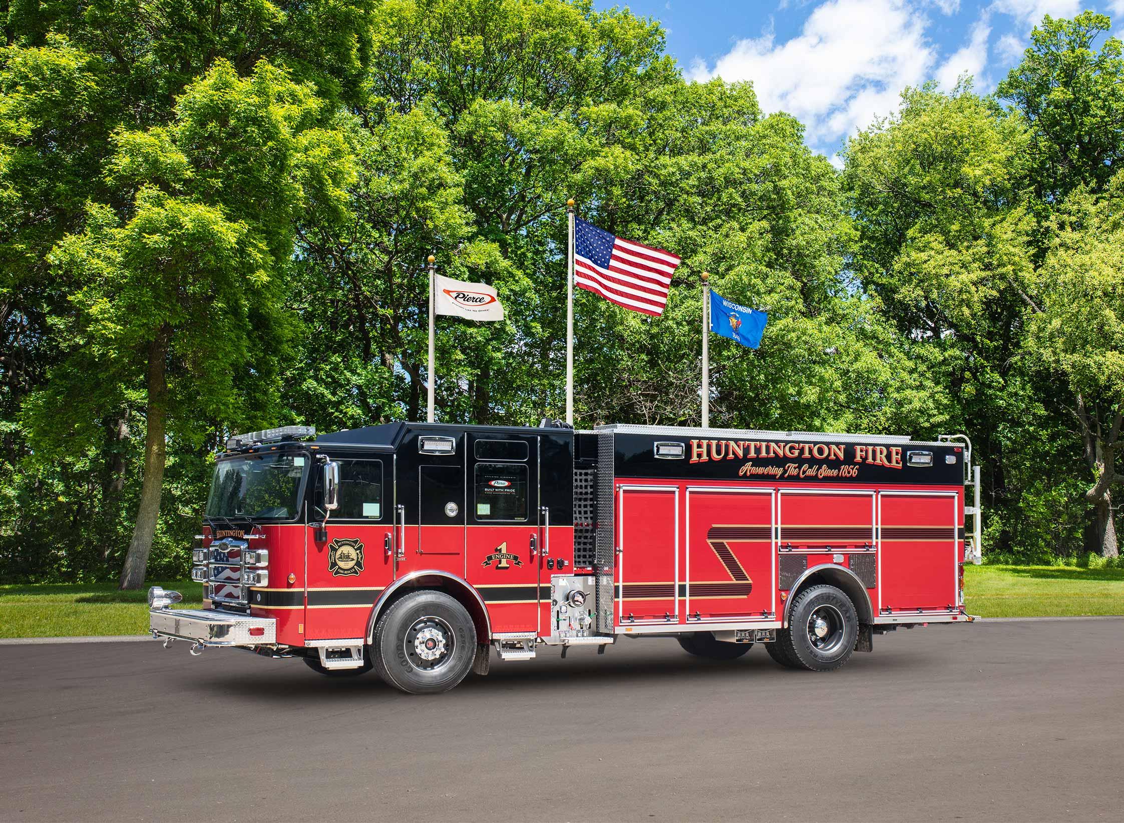 Huntington Fire Department - Pumper