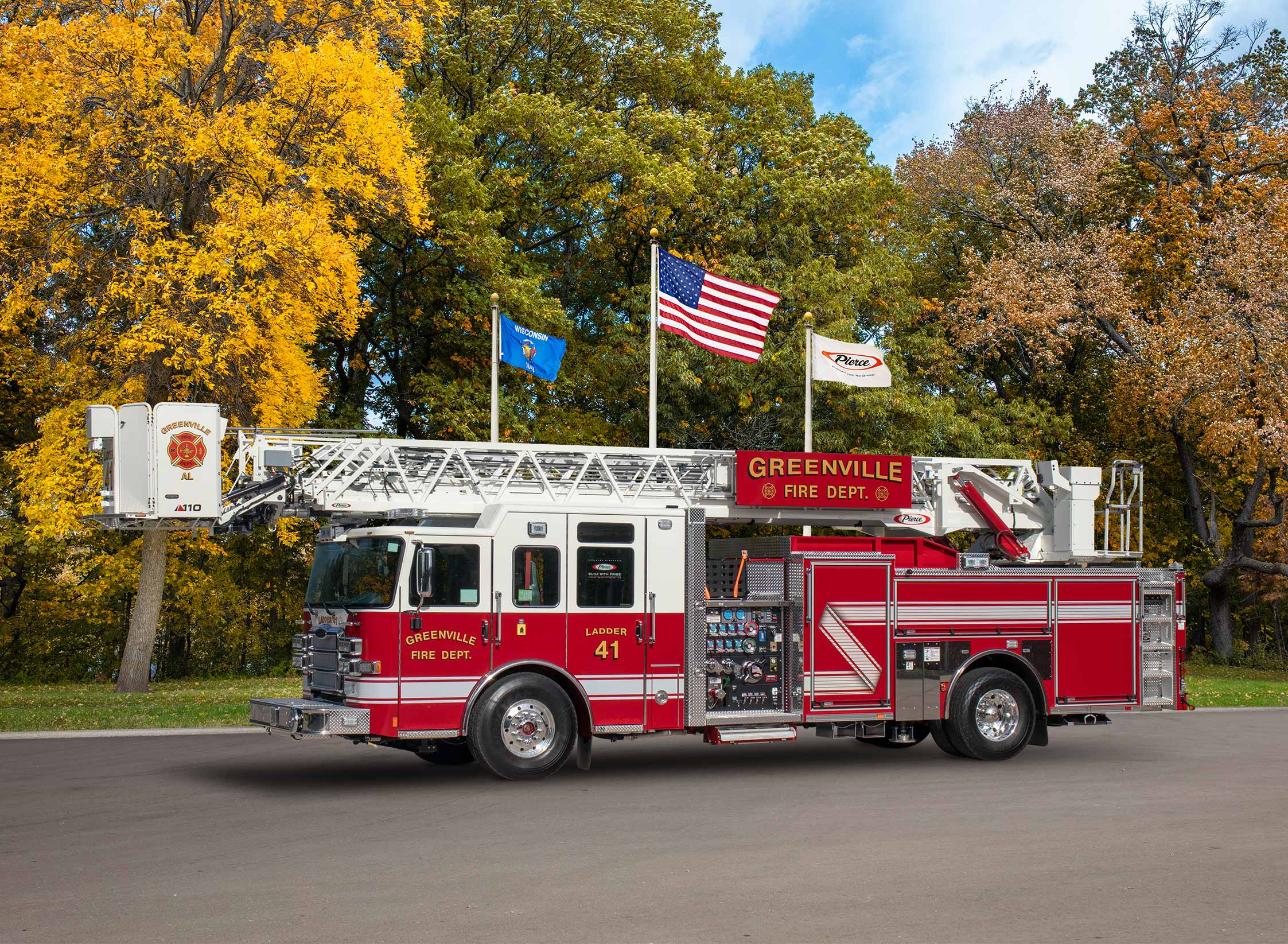 Greenville Fire Department - Aerial