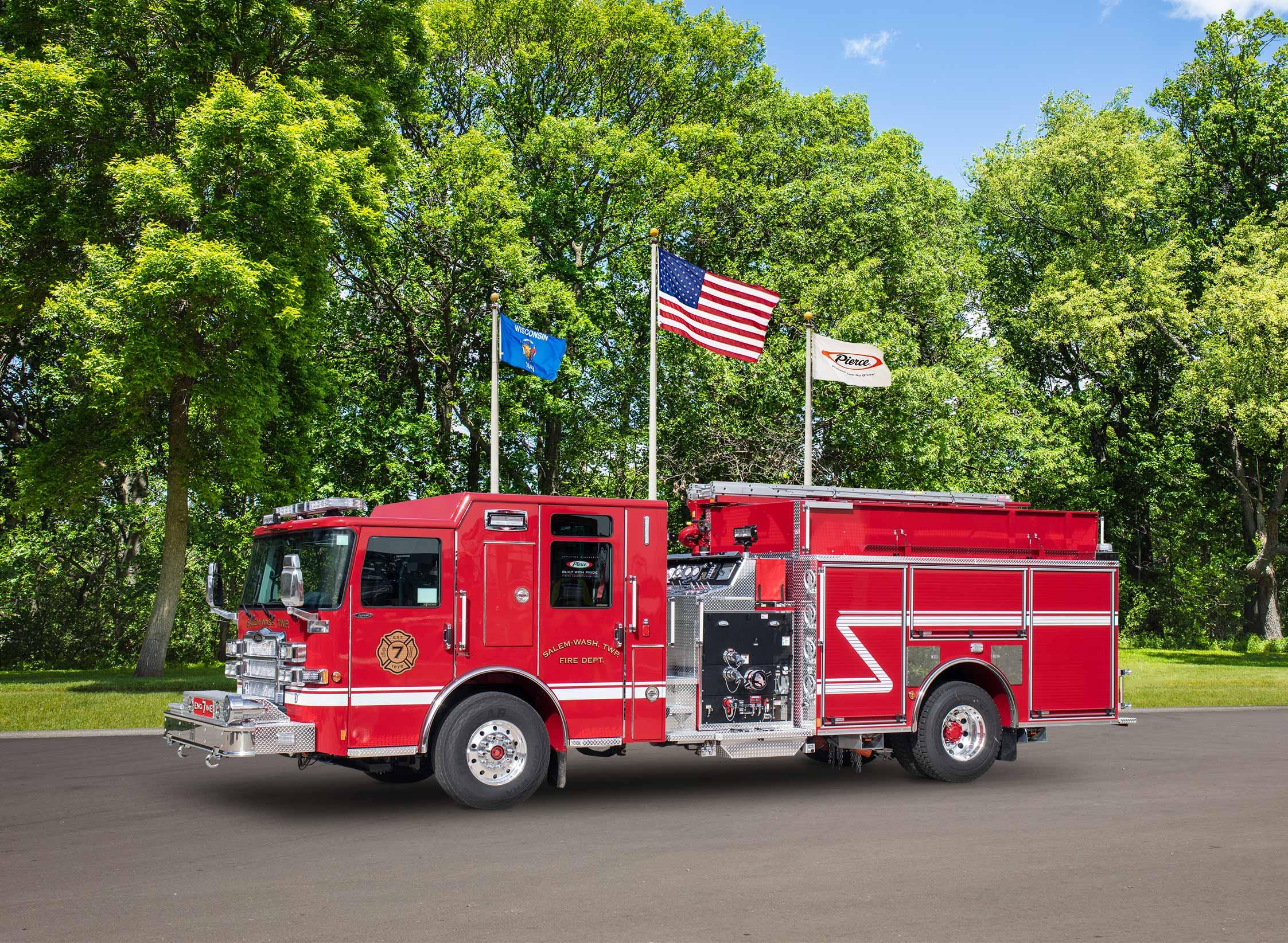 Washington Township Fire Department - Pumper